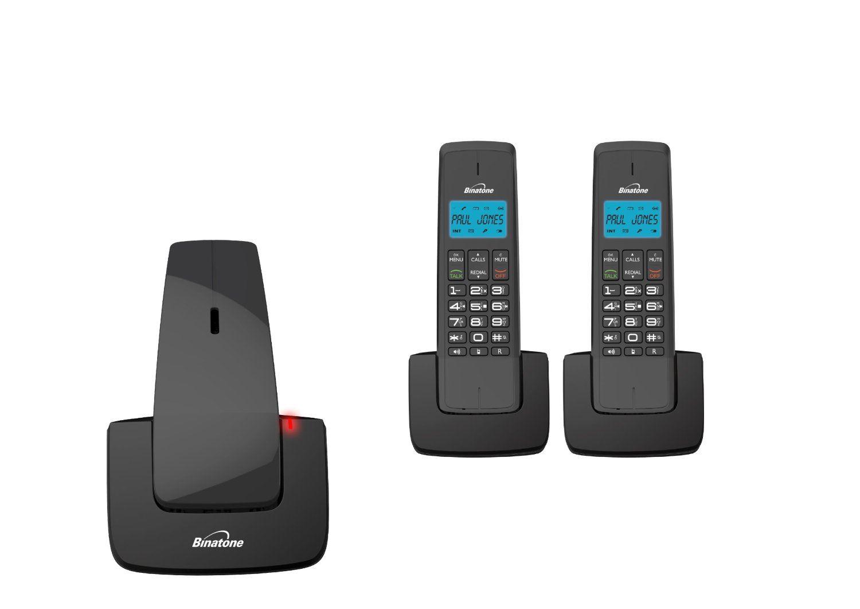 Binatone Designer  Bluetooth Triple Dect Home Phones With - Designer home phones