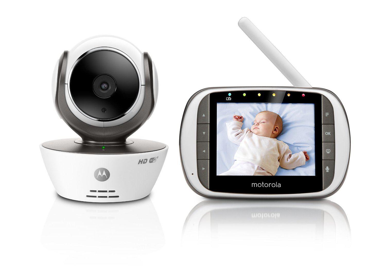 motorola mbp853 connect hd digital wifi camera video baby monitor 3 5 d. Black Bedroom Furniture Sets. Home Design Ideas