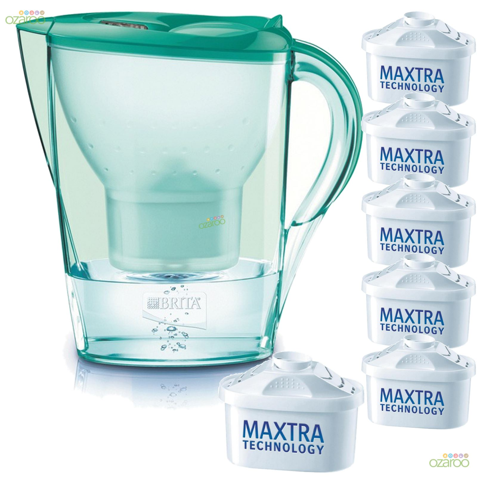 brita colour edition marella water filter jug 6 maxtra. Black Bedroom Furniture Sets. Home Design Ideas