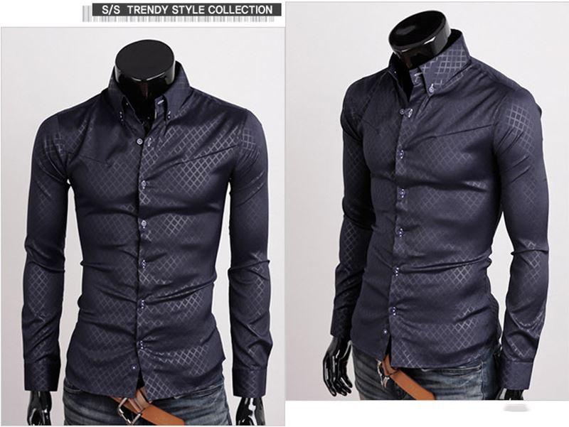 New Formal Shirt Design For Men 2013 New-Designer-Luxury-Stylish-