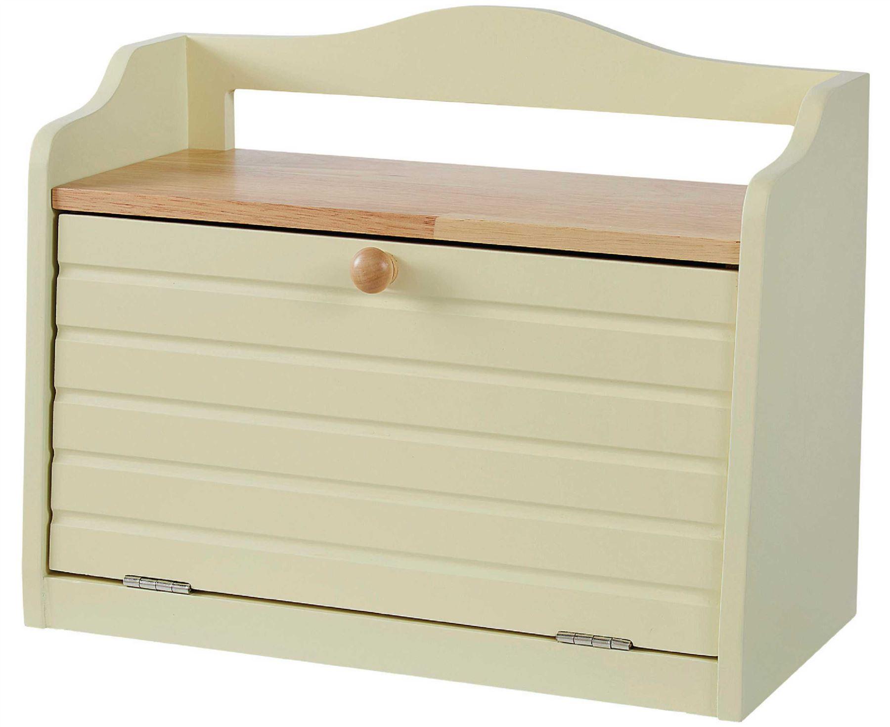 Winchcombe Bread Bin Solid Wooden Construction Kitchen Storage Furniture Ebay