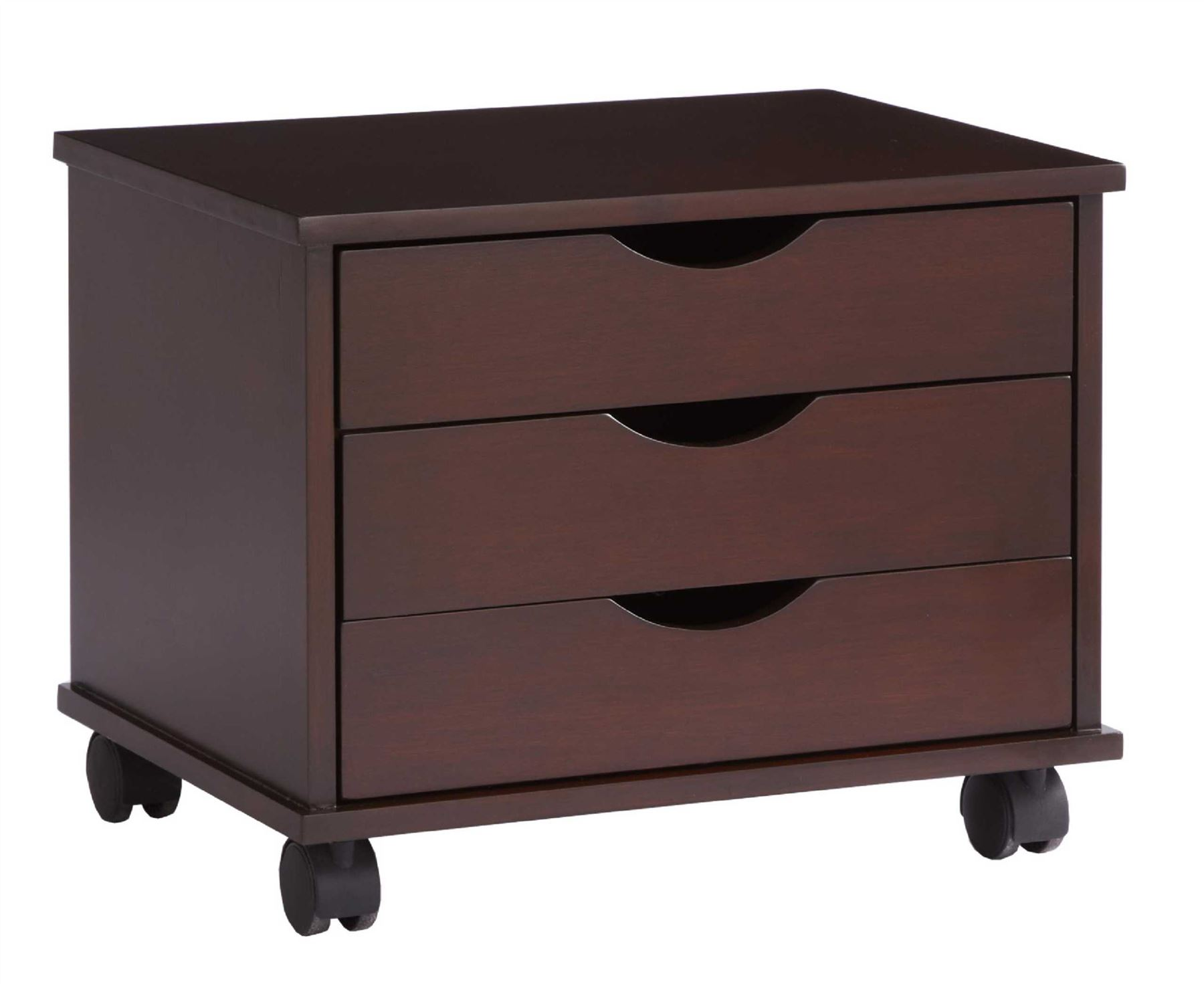 3 drawer Salisbury Storage Unit Rolling Home fice