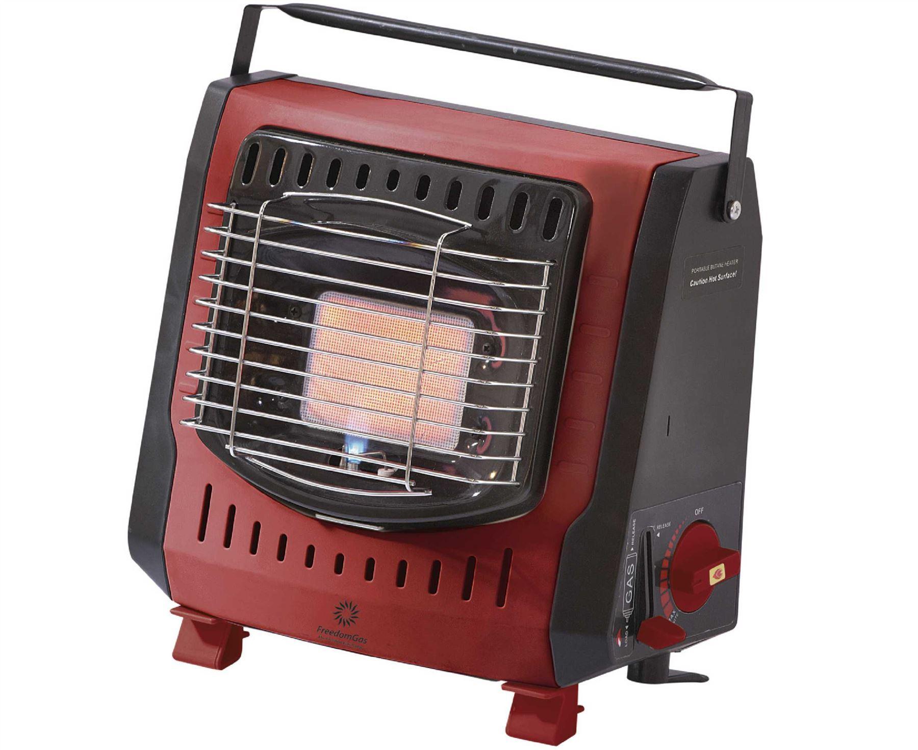 Portable Gas Heater Lightweight 1.3kg 1.3kW Outdoor Garden ...