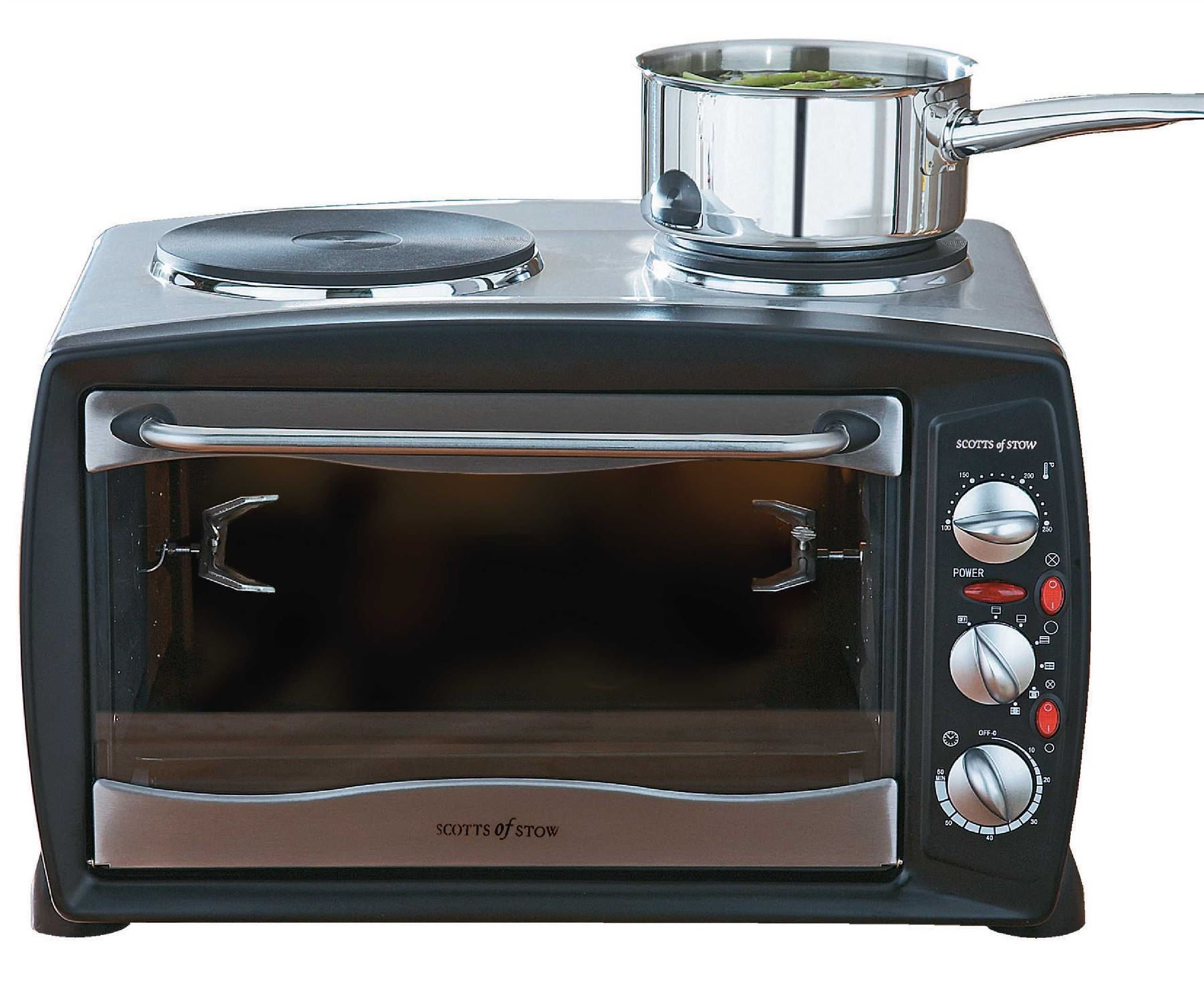 Mini Countertop Stove : ... Steel Mini Oven Compact Countertop Oven 26 Litre 2900W Convection