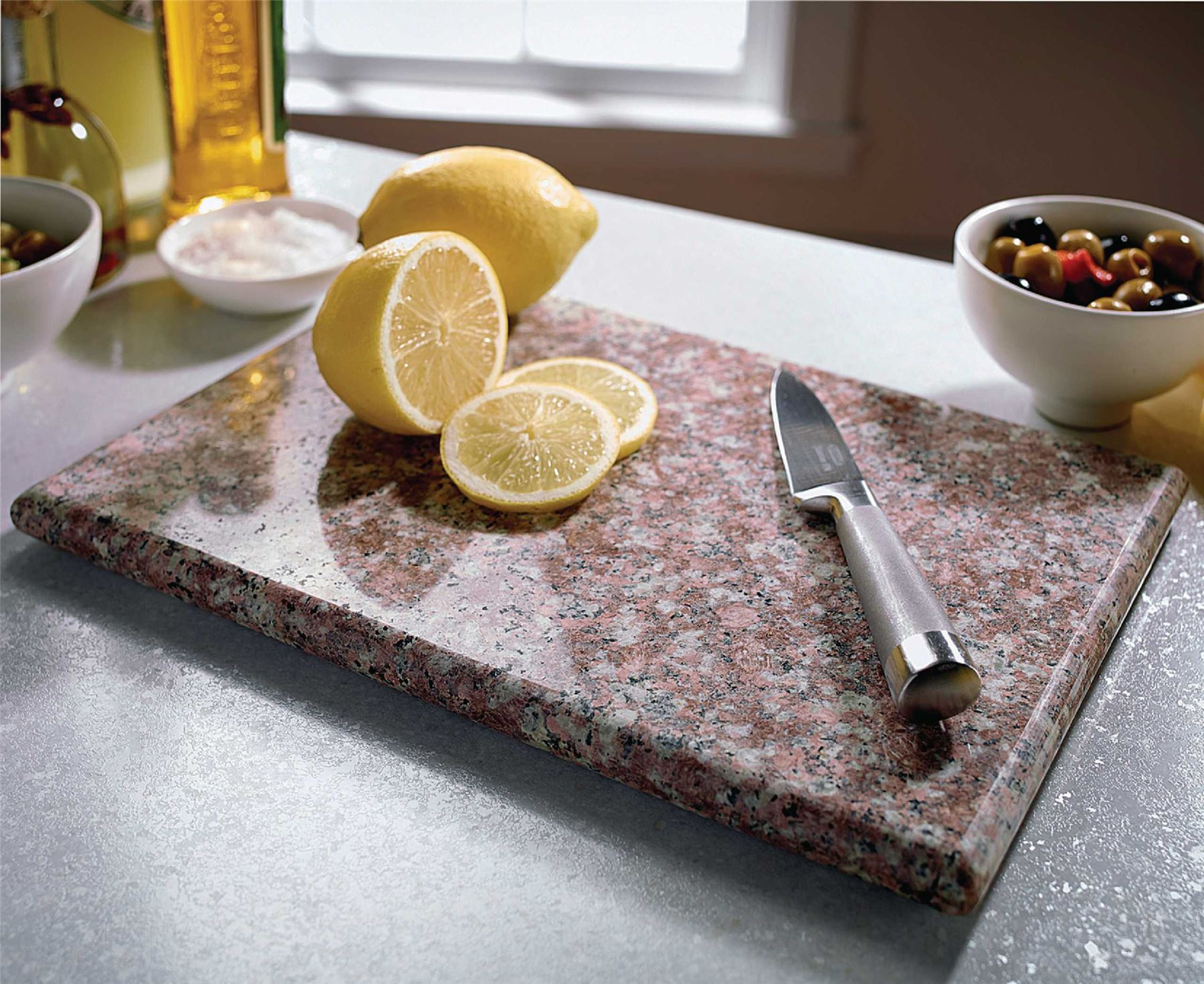 Small Granite Chopping Board Kitchen Food Preparation