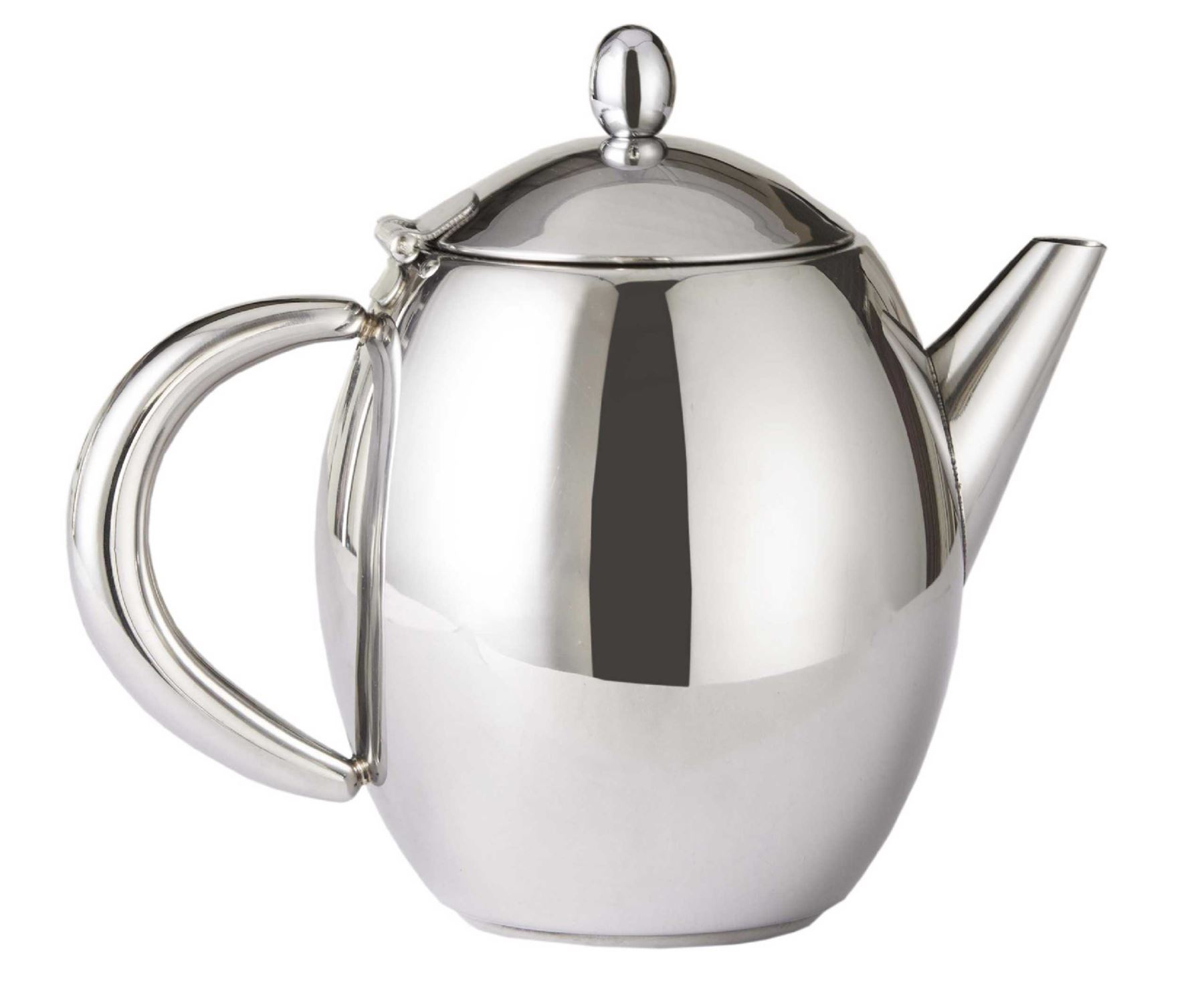 Scotts of stow stainless steel insulated teapot jug double - Cup stainless steel teapot ...