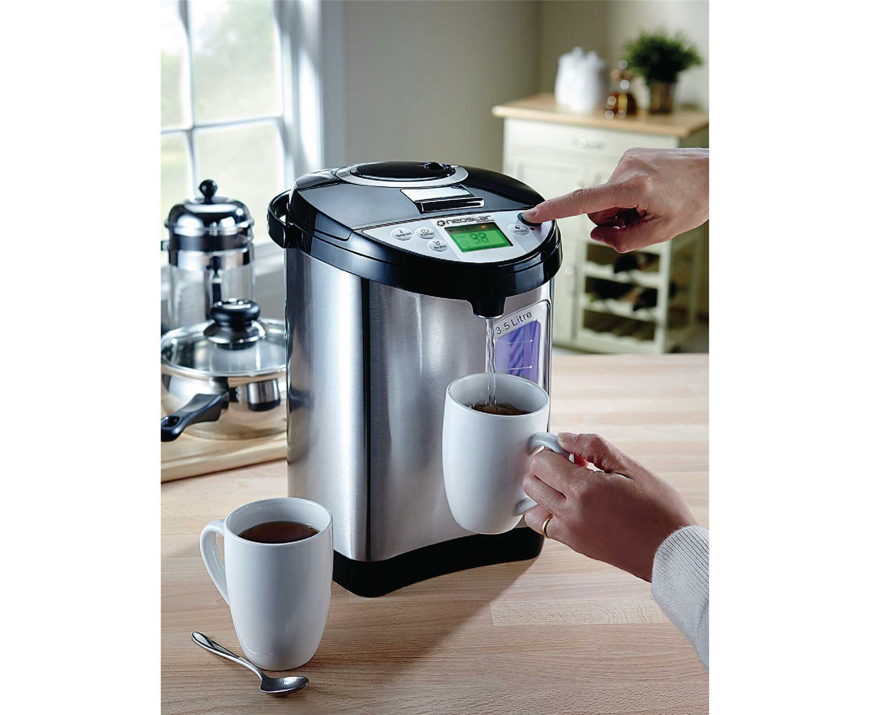 Hot Water Dispenser Kitchen : Neostar perma therm litre instant thermal hot water