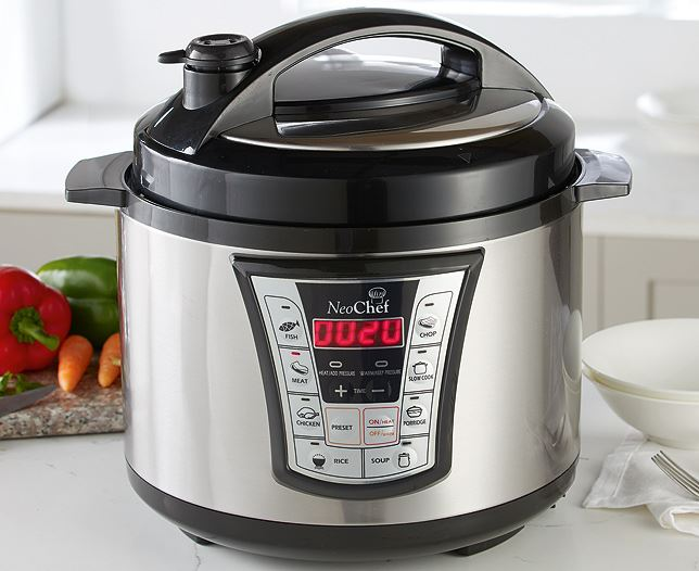 Neochef Electric Pressure Cooker Non Stick Pot 5 Litre 900w Cooking Catering Ebay