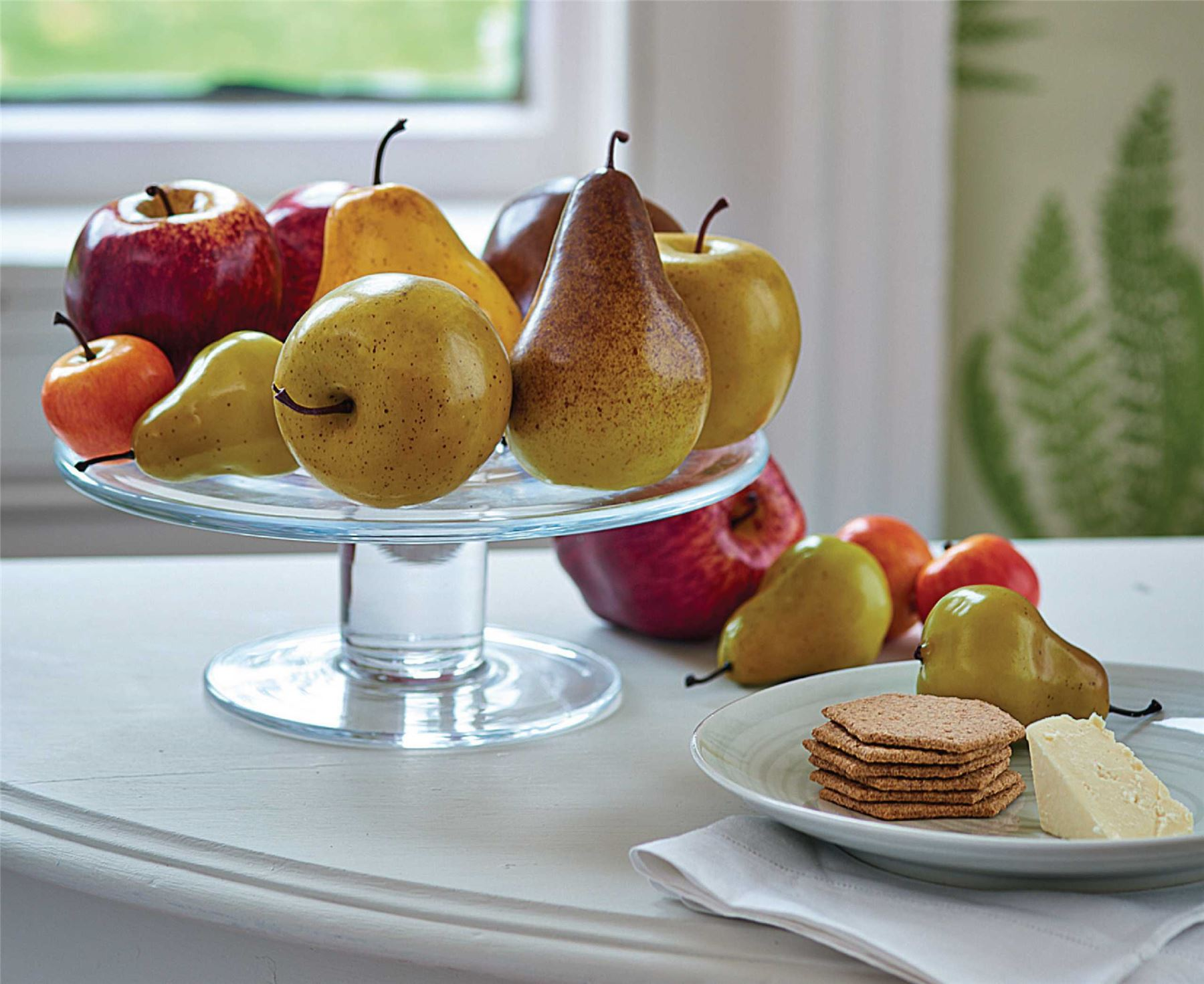Bloom apples and pears collection artificial fruits for Artificial pears decoration