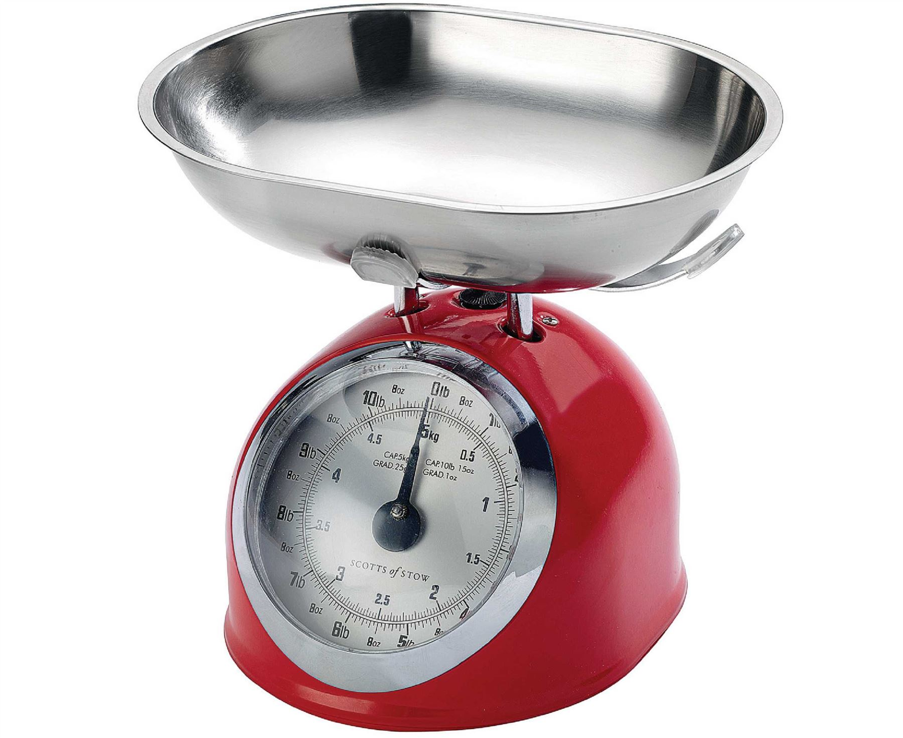 Traditional kitchen scales old fashioned mechanical metal for Traditional kitchen scales