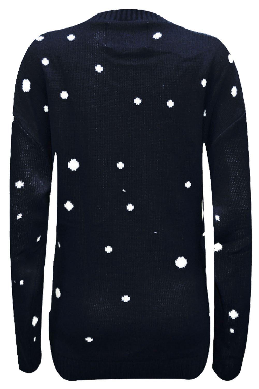 Unisexe noël vintage nouveauté 70,S noël pull à la pub retro sweater top