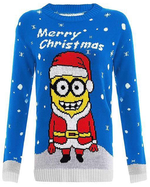 jumper kids christmas sweater xmas girls childrens boys. Black Bedroom Furniture Sets. Home Design Ideas