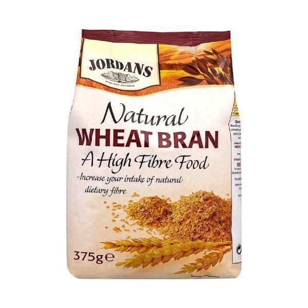 Jordans (Cereals) - High Fiber Natural Wheat Bran 375g