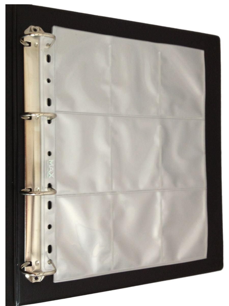 album pour collection de cartes classeur rembourr et pochettes de protection ebay. Black Bedroom Furniture Sets. Home Design Ideas