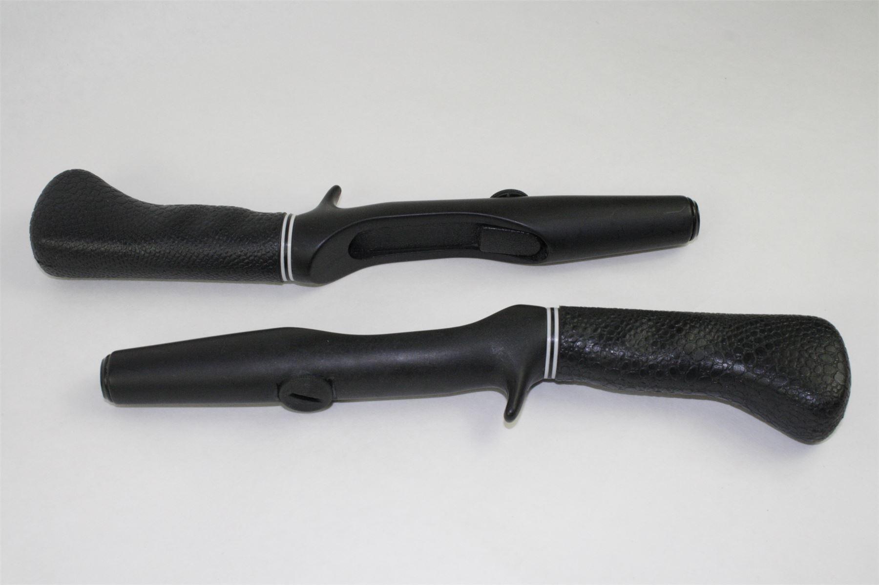 2 vintage fishing rod handles soft pistolt grip freshwater for Fishing rod grips