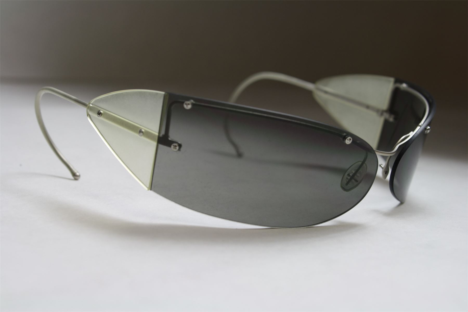 8cd3863d1c PRADA SPR65B Sunglasses Wrap Around Ear With Case Made in Italy