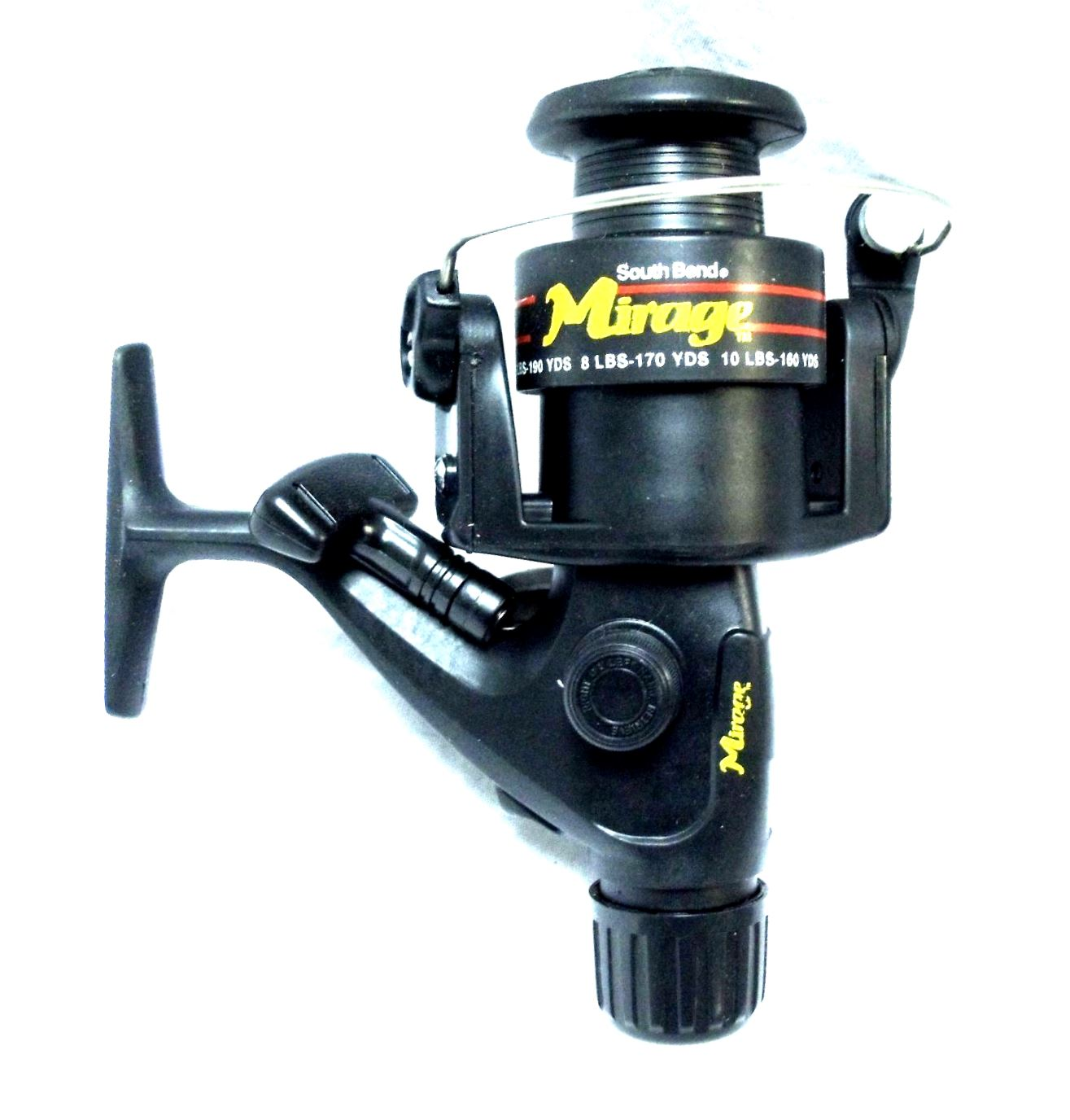 South Bend Mirage 431a Open Face Fishing Spining Cast