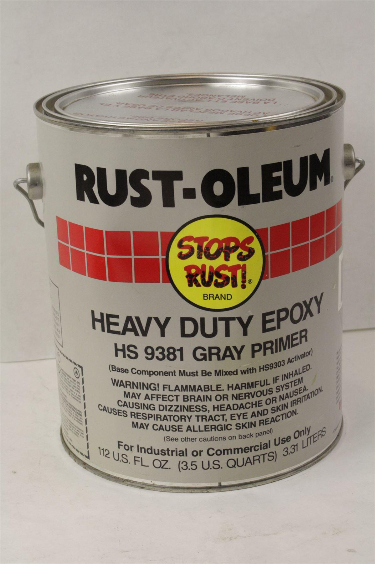 Rust Oleum Epoxy Shield : Rust oleum hs heavy duty gray primer epoxy ebay