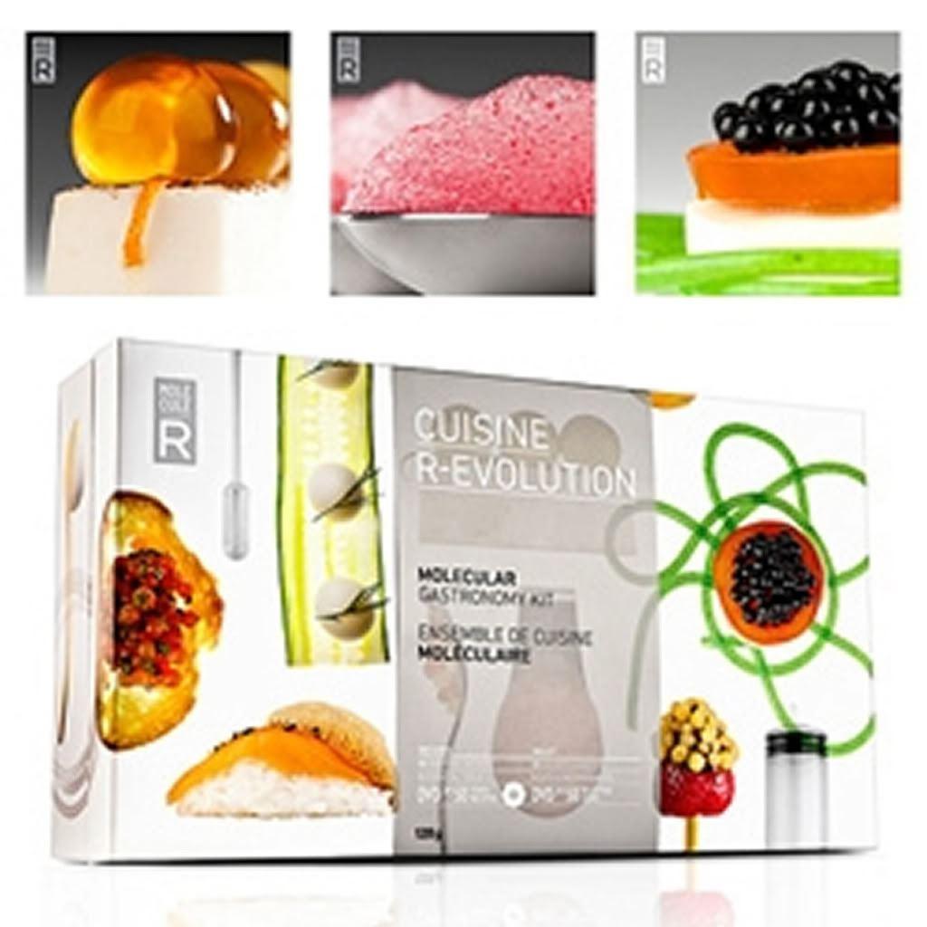 Molecular gastronomy cuisine r evolution kit molecule r for Cuisine r evolution