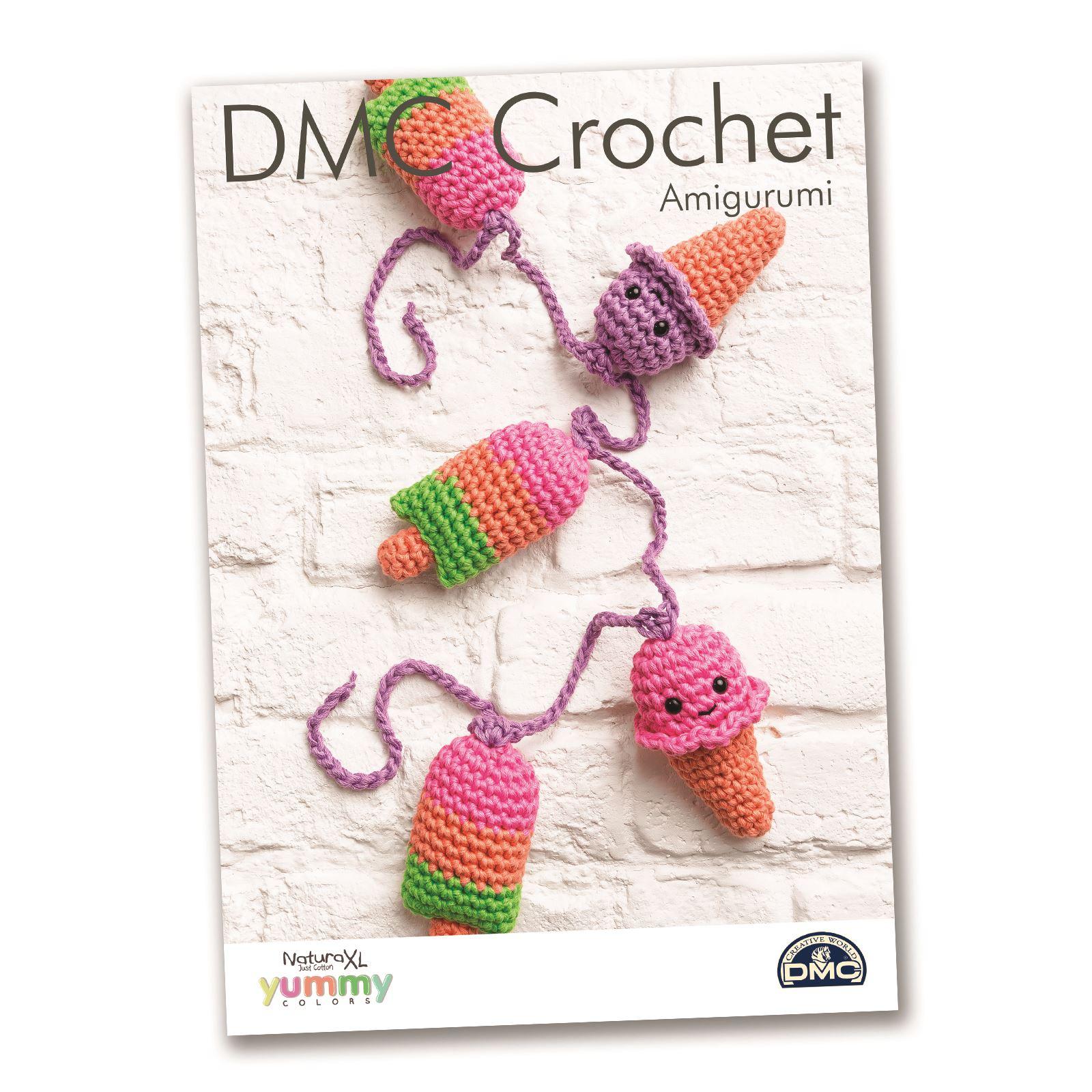 DMC Natura XL Yummy Crochet Patterns Amigurumi Home Decor ...