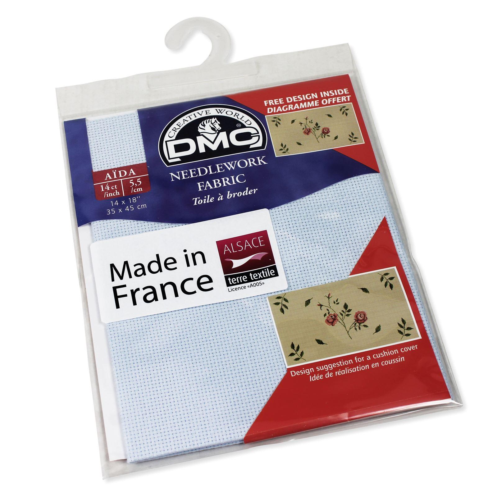 Dmc Aida Needlework Fabric Cross Stitch Canvas Material Ebay