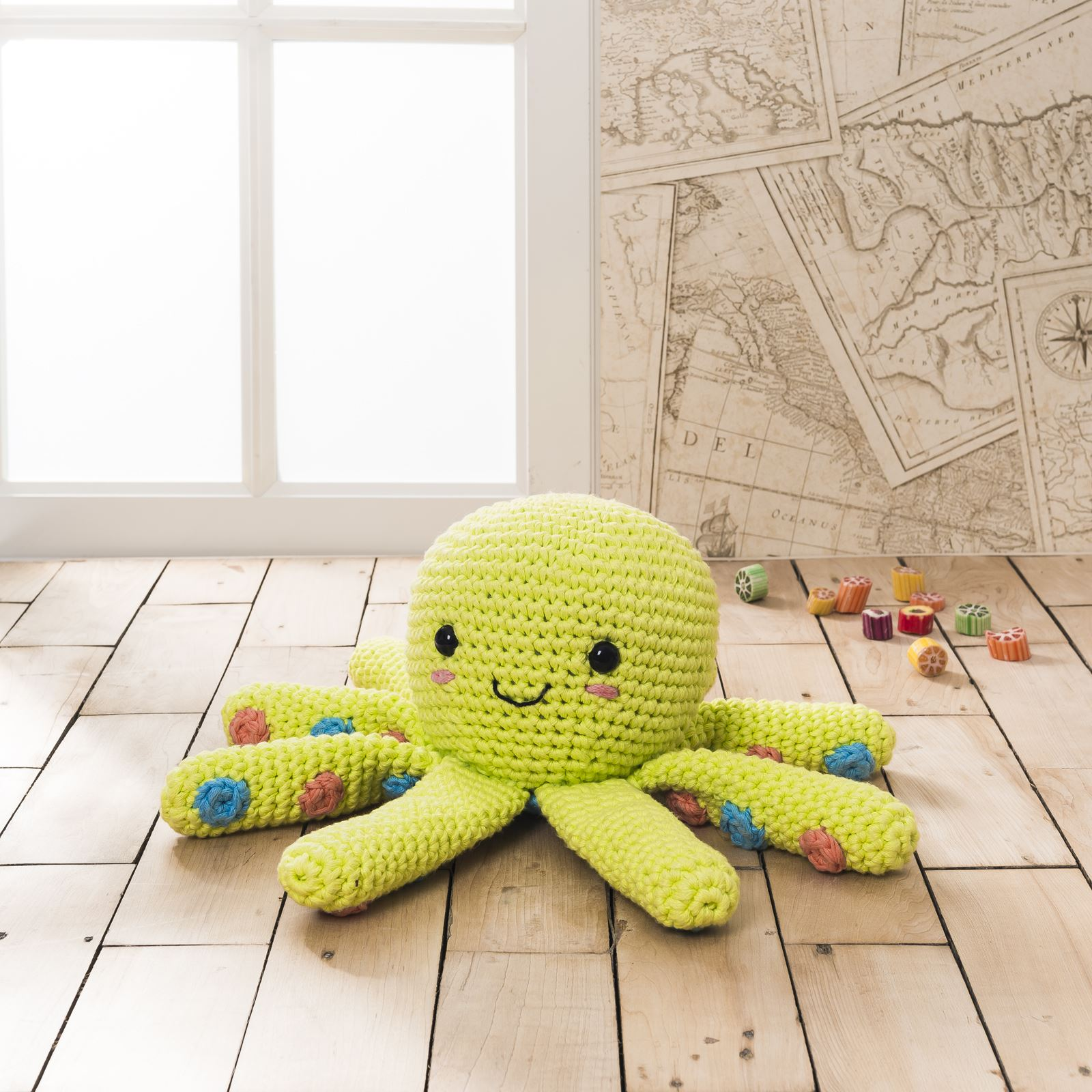 DMC Natura XL Yummy Crochet Patterns Amigurumi Home Decor ...