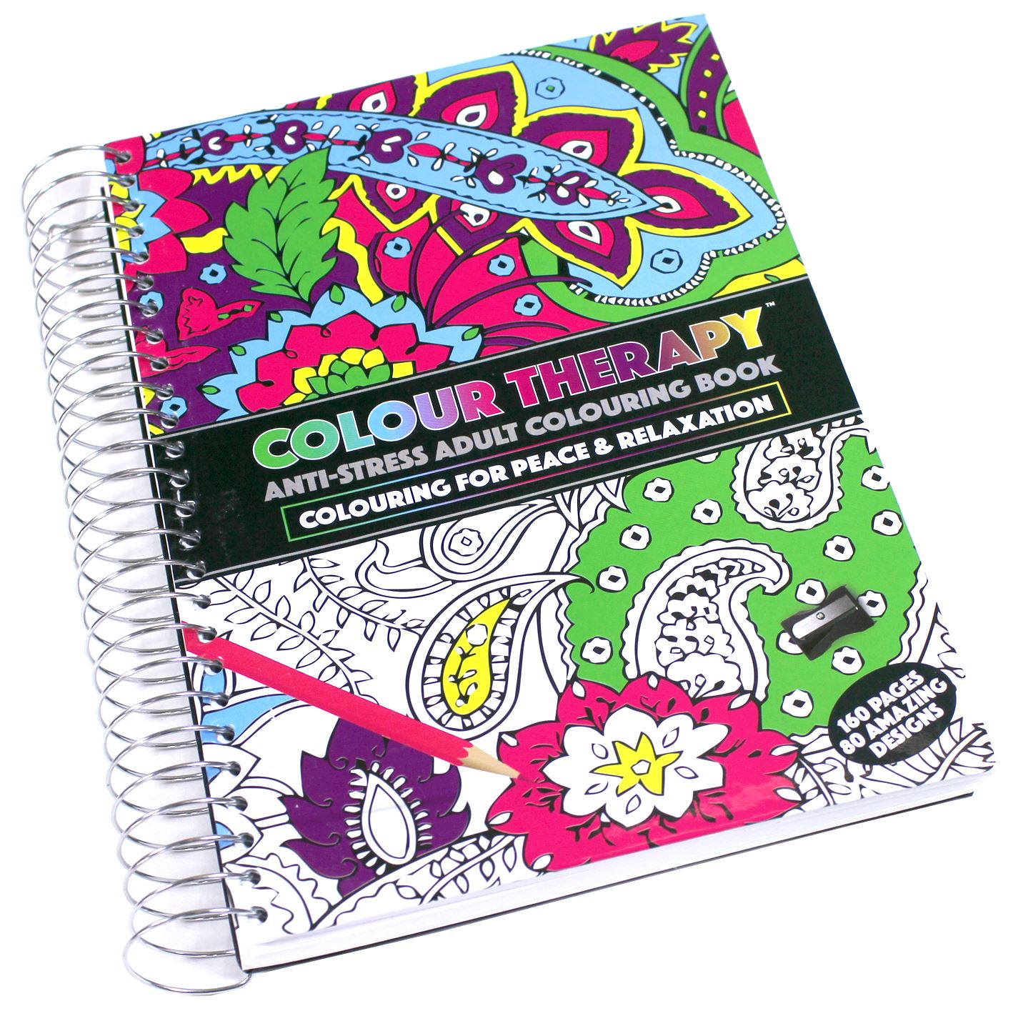 Adult coloring books ebay - Anti Stress Coloring Book Ebay Colour Therapy Colouring Books Pencils Amp Pens
