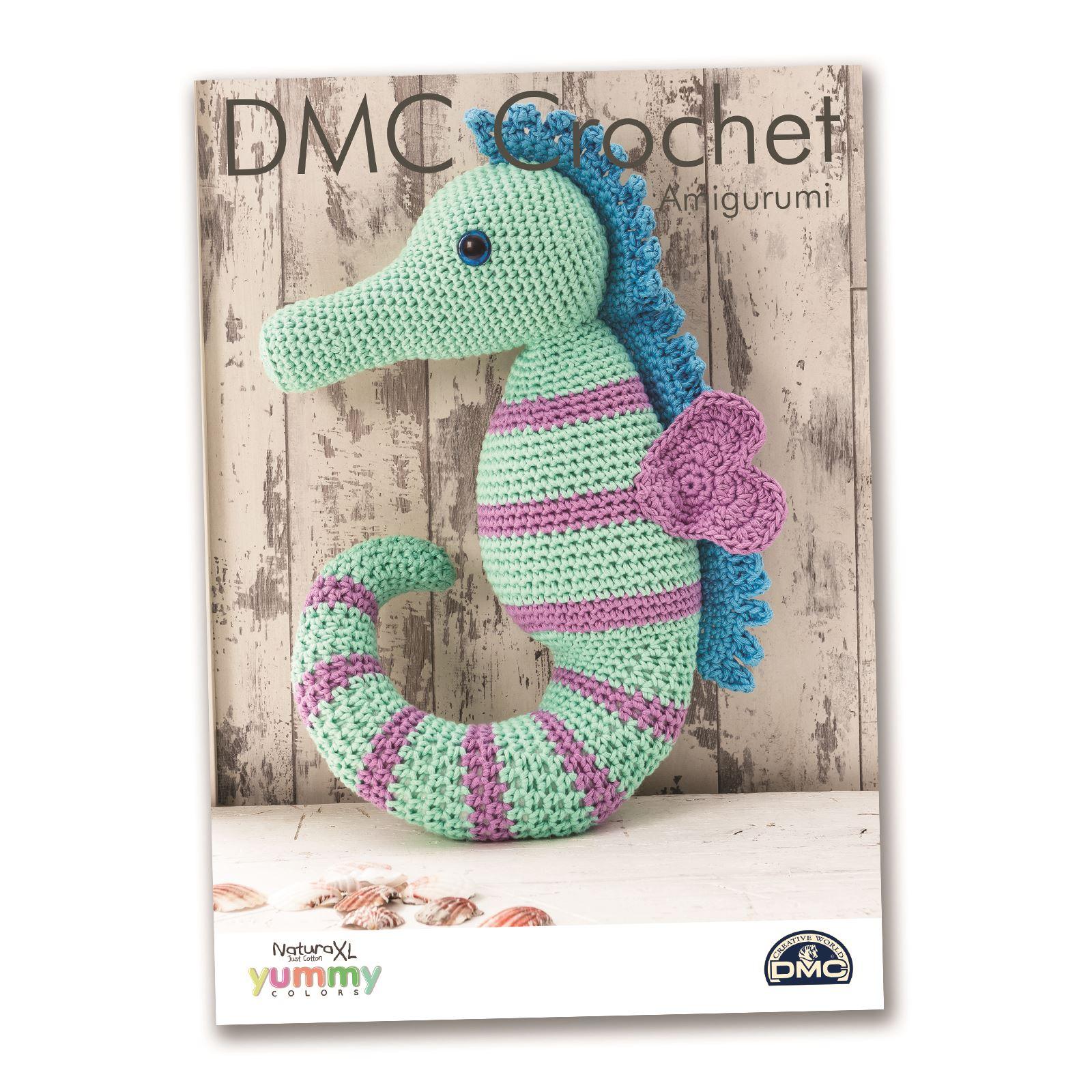 Xl Crochet Patterns : DMC Natura XL Yummy Crochet Patterns Amigurumi Home Decor eBay