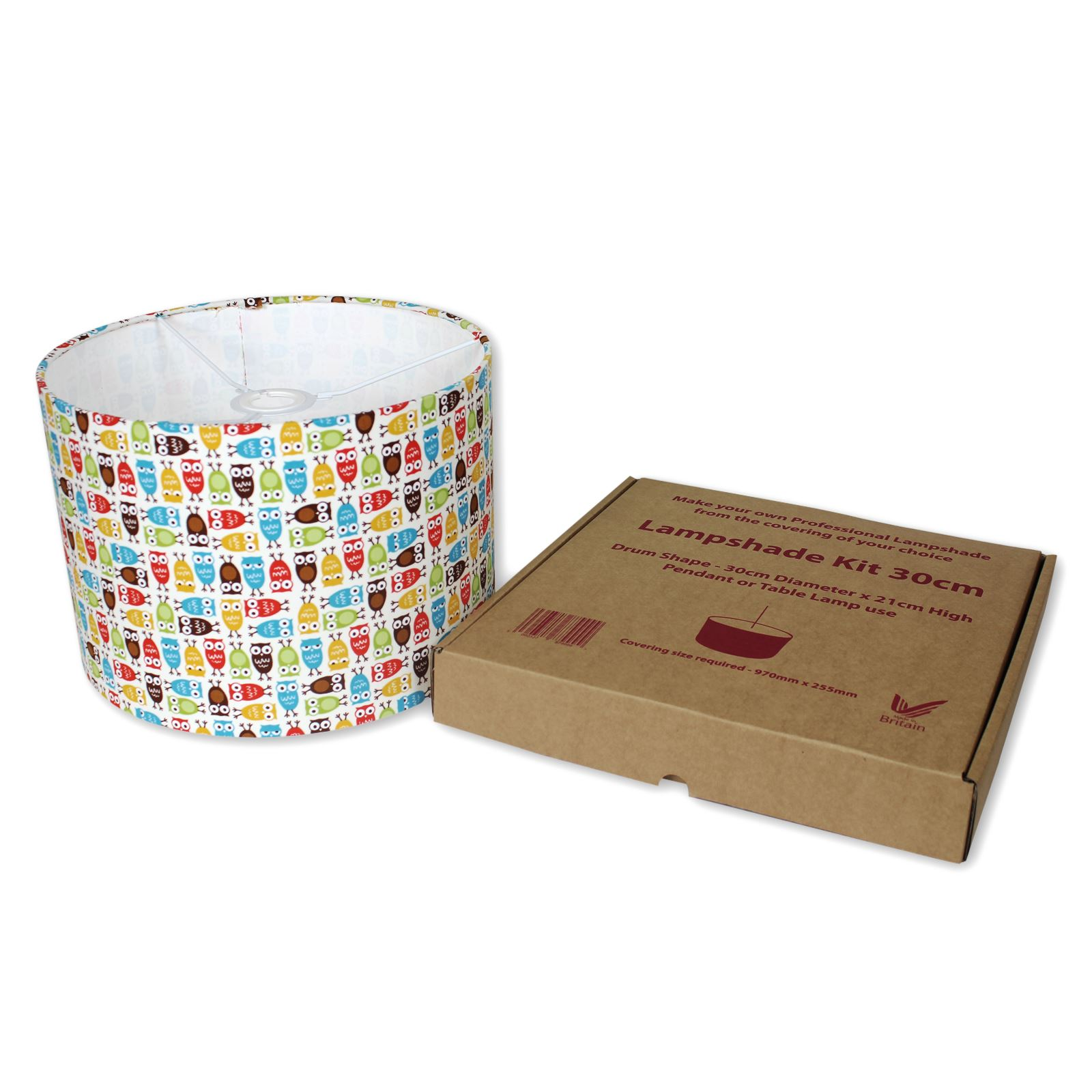 Lampshade Kits Make Your Own Lampshades 20cm 30cm 40cm
