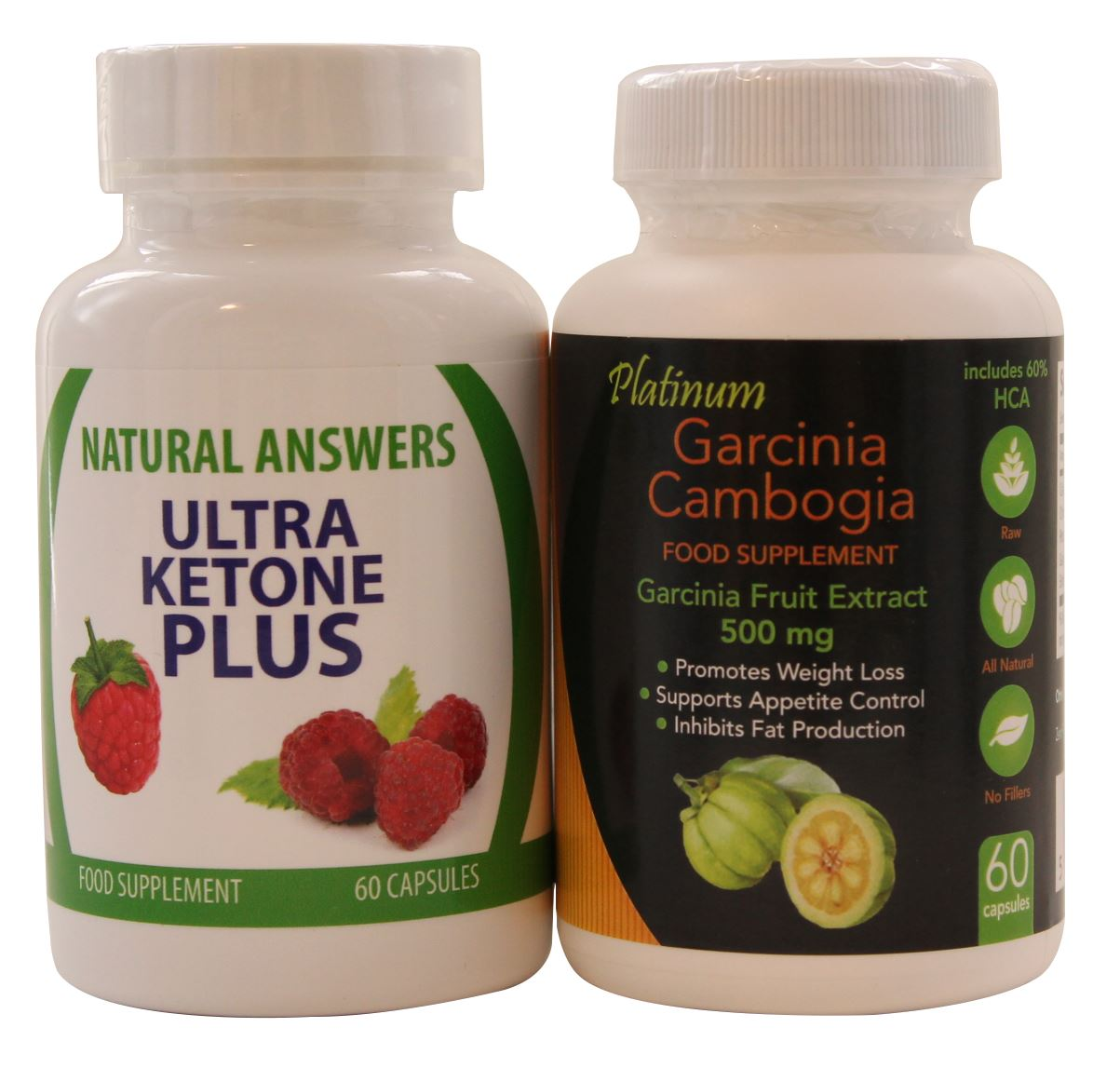 60 ultra ketone plus natural answers 60 garcinia cambogia detox diet pills ebay. Black Bedroom Furniture Sets. Home Design Ideas