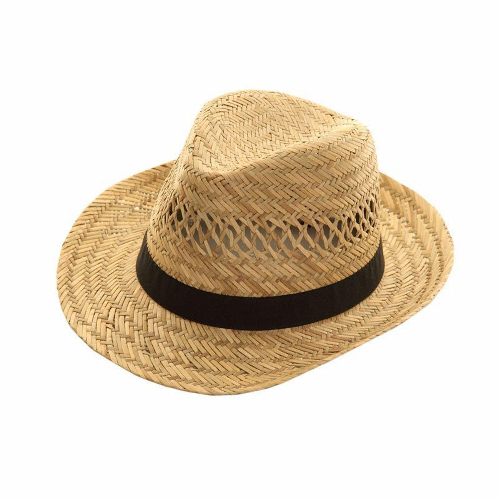 mens womens straw hat trilby fedora cap panama beach summer beachwear sun hat ebay. Black Bedroom Furniture Sets. Home Design Ideas
