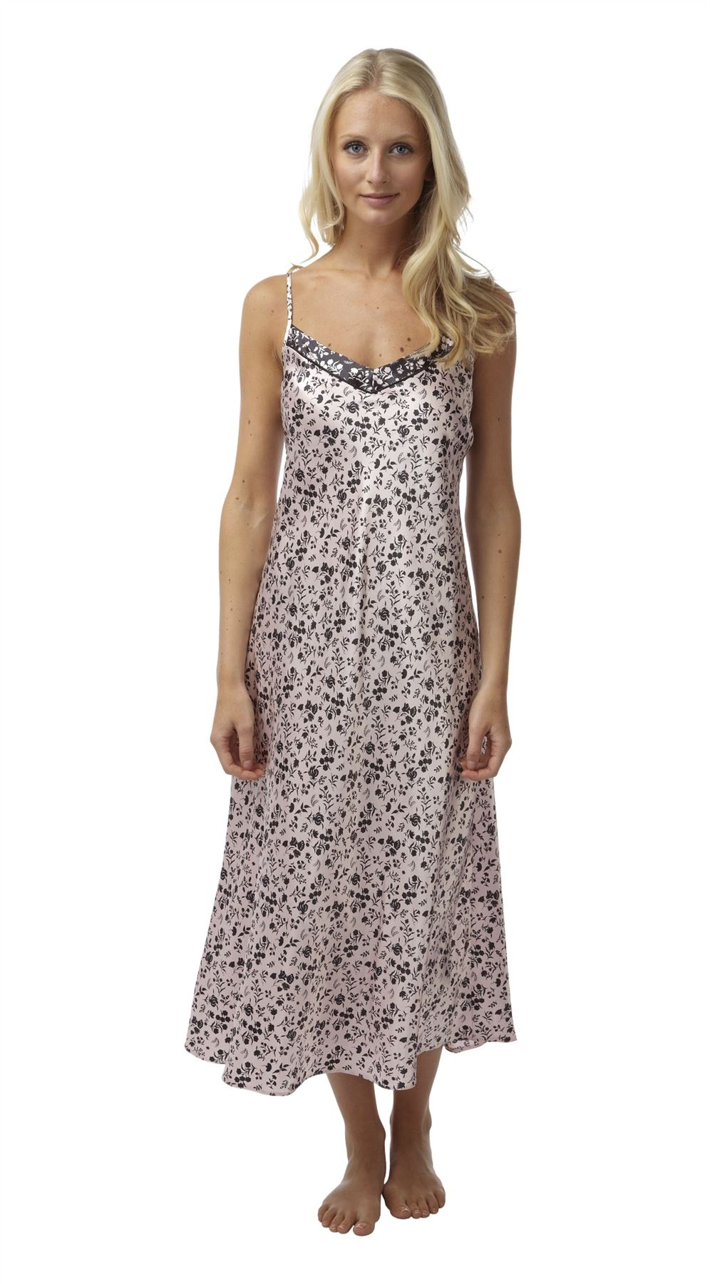 Women's Nightdresses. If you love a lie in, then you'll enjoy doing it pretty nightdresses. At George, we have a collection of comfy chemise dresses in floral .