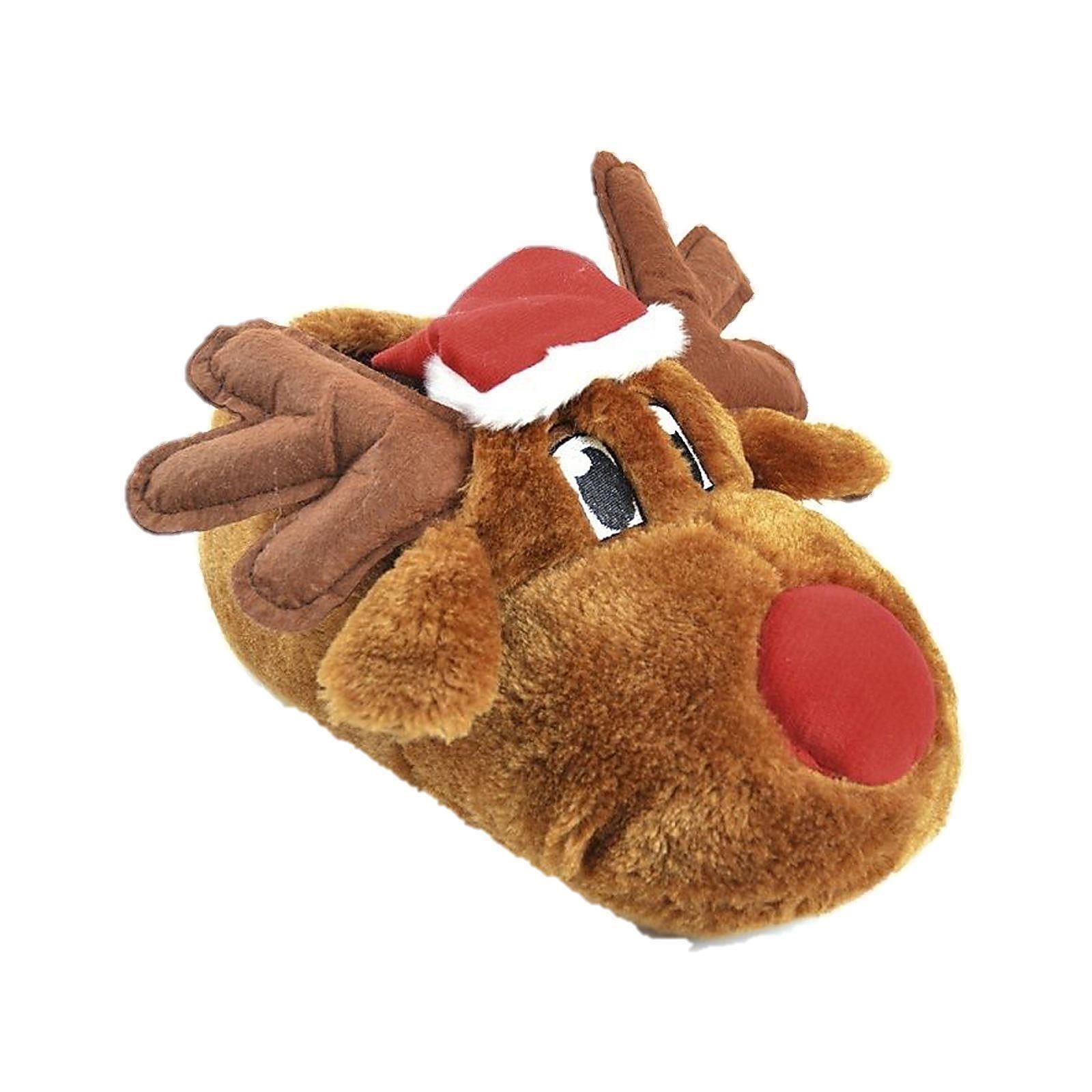 Mens Ladies Children Slippers Christmas Novelty | EBay