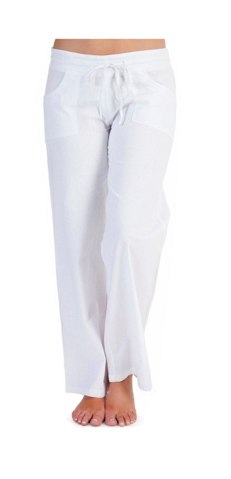 Achieve a refined casual look with these linen pants by Joseph Abboud. They are styled with a flat front and tab closure in a modern fit for a smooth look.