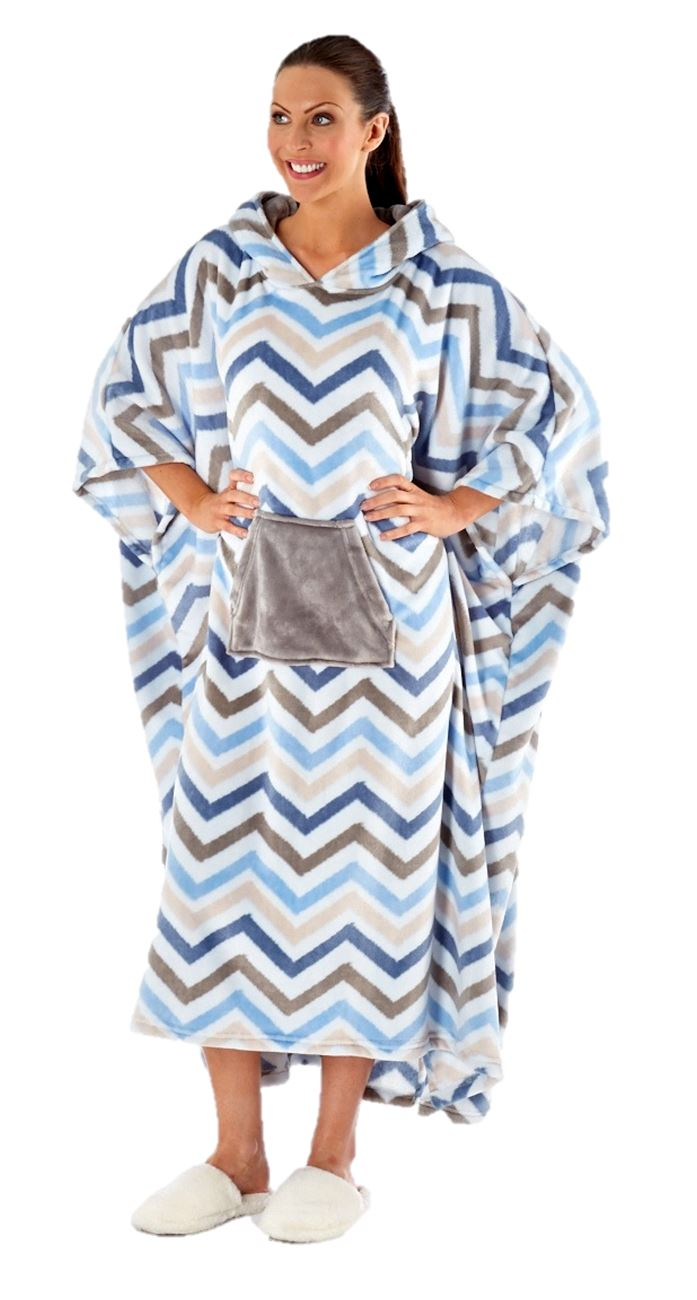 4e3be8e048b ... Dressing Gown Zip Front Anti-Pill Polar Fleece s.18 20 Australian Made  · ladies kaftan poncho soft fleece plus size 16 18 20 22 24 26 28