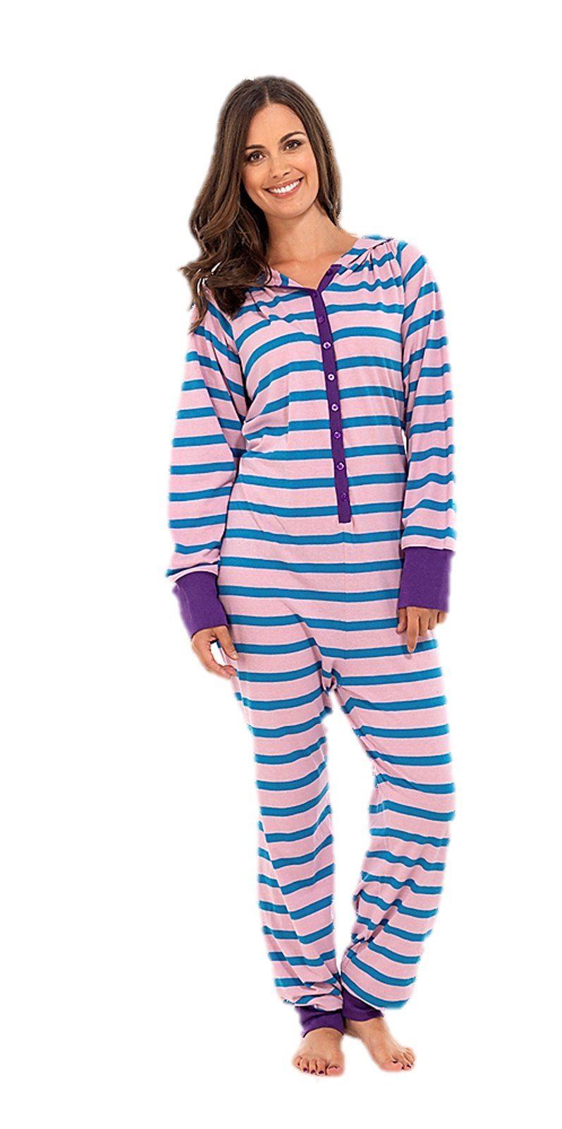 ladies jumpsuit onesie all in one piece hoodie pyjamas pajama cute ebay. Black Bedroom Furniture Sets. Home Design Ideas