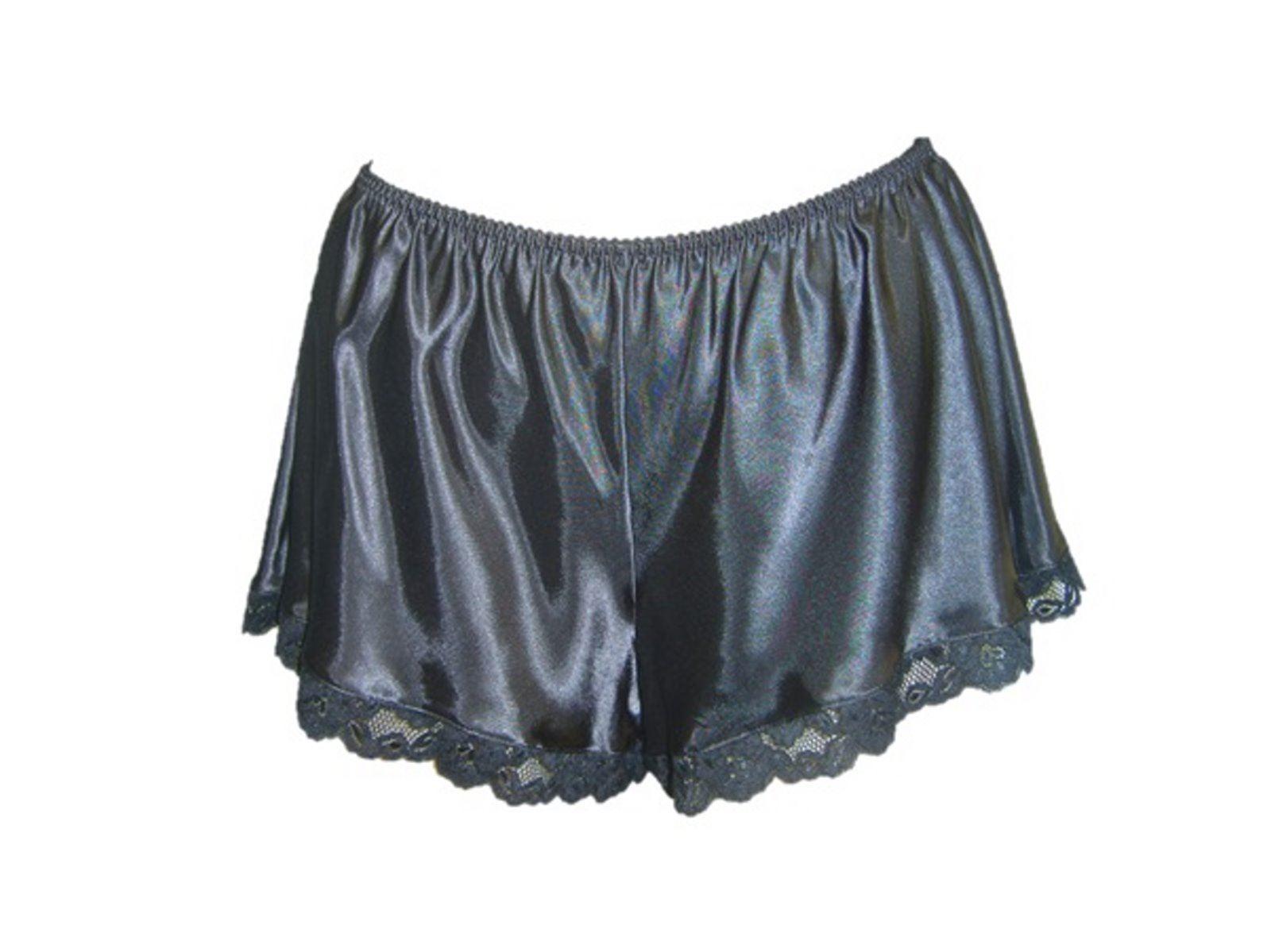femme dentelle fran ais culotte satin de soie lingerie sous v tements slips culottes ebay. Black Bedroom Furniture Sets. Home Design Ideas