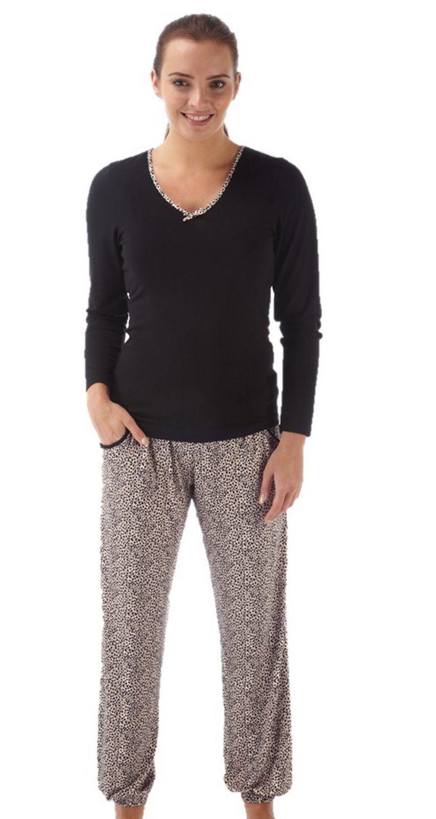 pyjama femme pyjamas lingerie v tements de nuit ebay. Black Bedroom Furniture Sets. Home Design Ideas