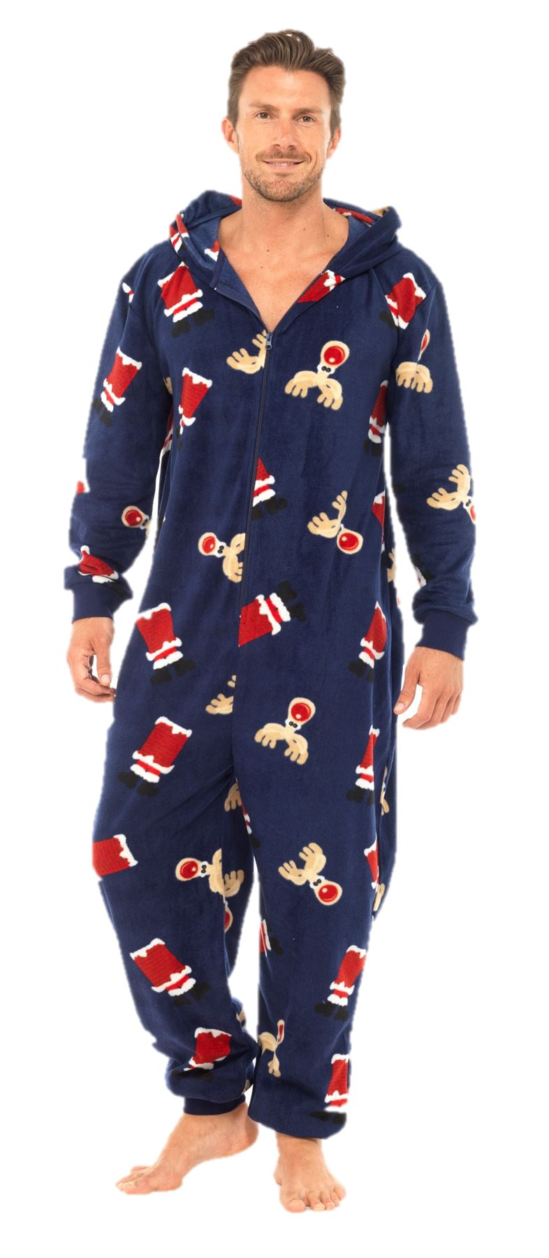 That's the perfect time to wear your loudest, proudest Christmas Pajamas. Our extensive collection of Christmas Pajamas in a wide variety of styles allow you to wear your passion around the house. Turn your interests, causes or fan favorites into a killer comfy pajama set.