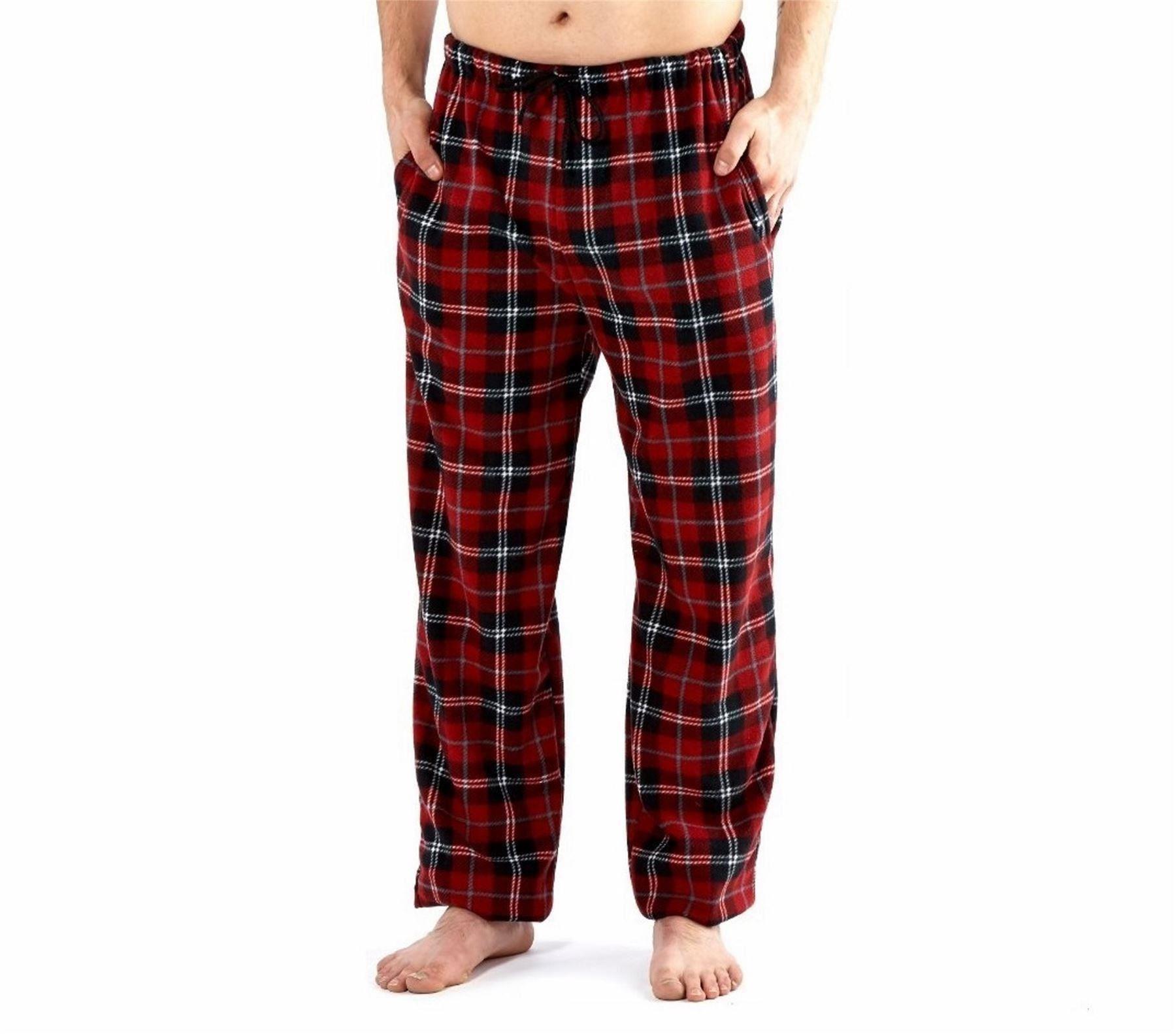 pantalon de d tente homme polaire pyjama bas pantalon flanelle s m l xl ebay. Black Bedroom Furniture Sets. Home Design Ideas