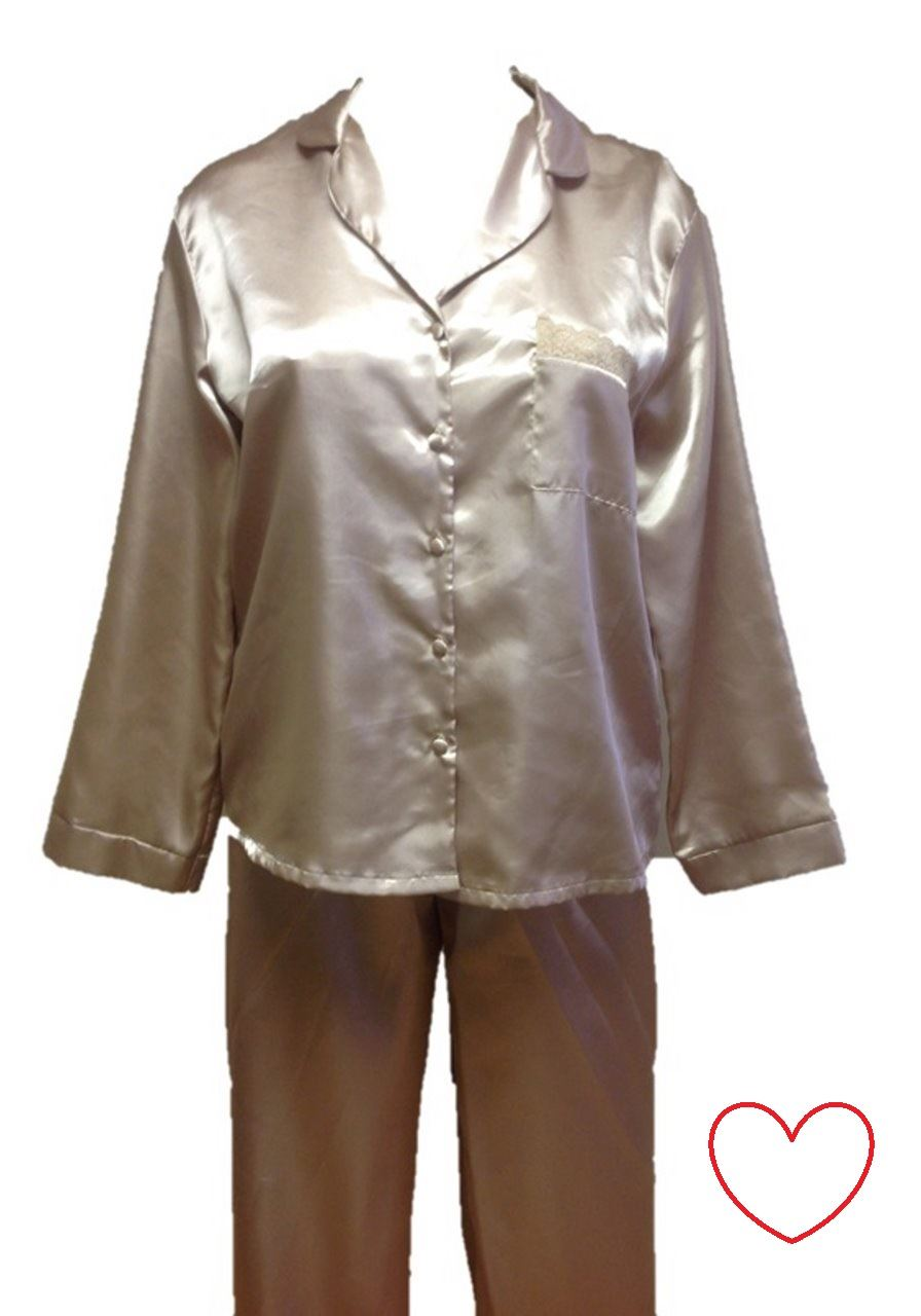 Satin Pajama Sets. Showing 16 of 16 results that match your query. Search Product Result. Product - Laura Scott Women Gray Satin Trim Pajamas Lightweight Short Sleeve Pajama Set. Product Image. Price $ Product Title. Laura Scott Women Gray Satin Trim Pajama s Lightweight Short Sleeve Pajama .