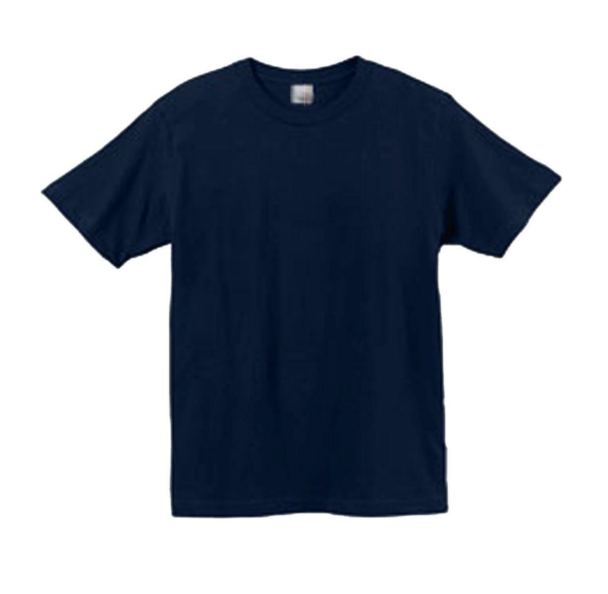Big mens king size t shirt t shirt tee navy cotton 2xl 3xl for Mens t shirts 4xl