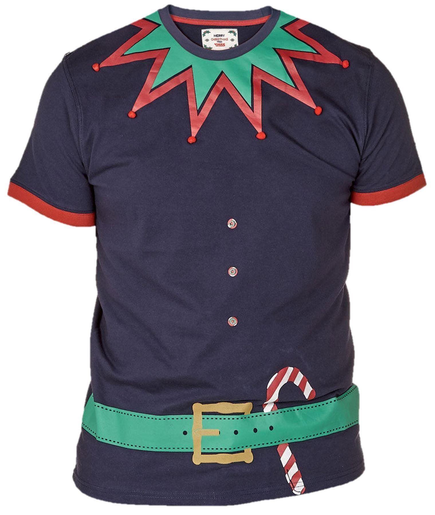Mens christmas t shirt 3xl 4xl 5xl 6xl t shirt ebay for Mens t shirts 4xl