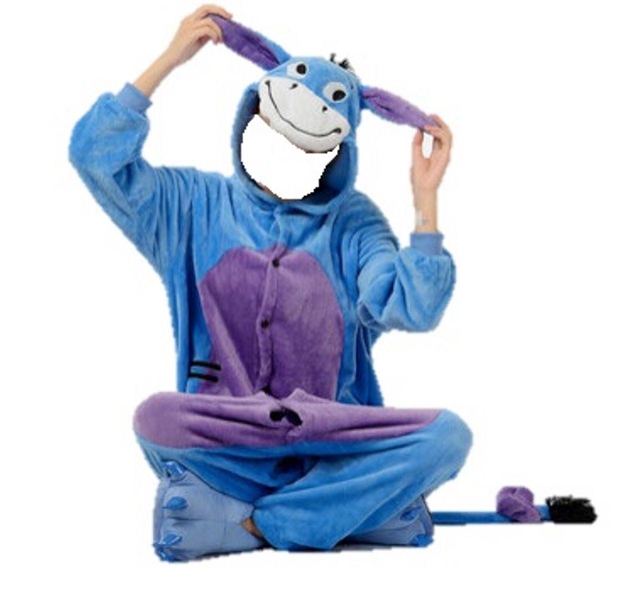 onesie animal cosplay cartoon character pyjamas pajama | eBay
