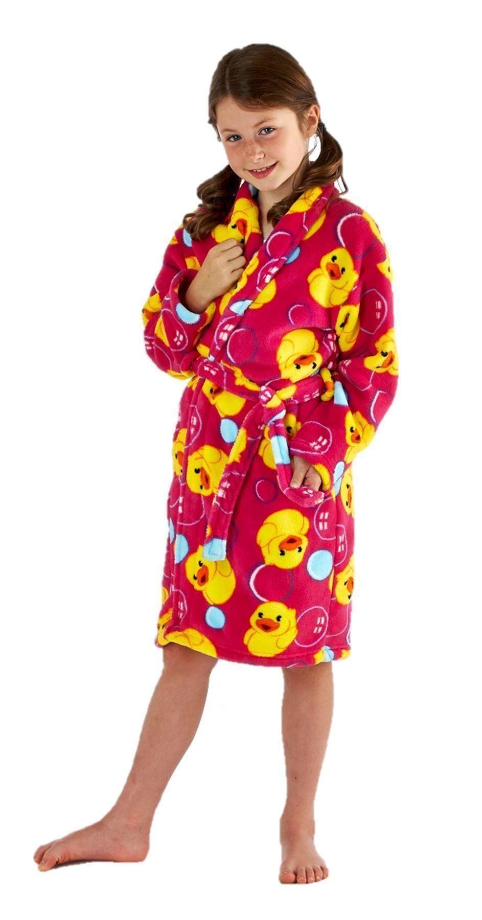 robe de chambre peignoir fille 7 8 9 10 1 12 13 ans super. Black Bedroom Furniture Sets. Home Design Ideas
