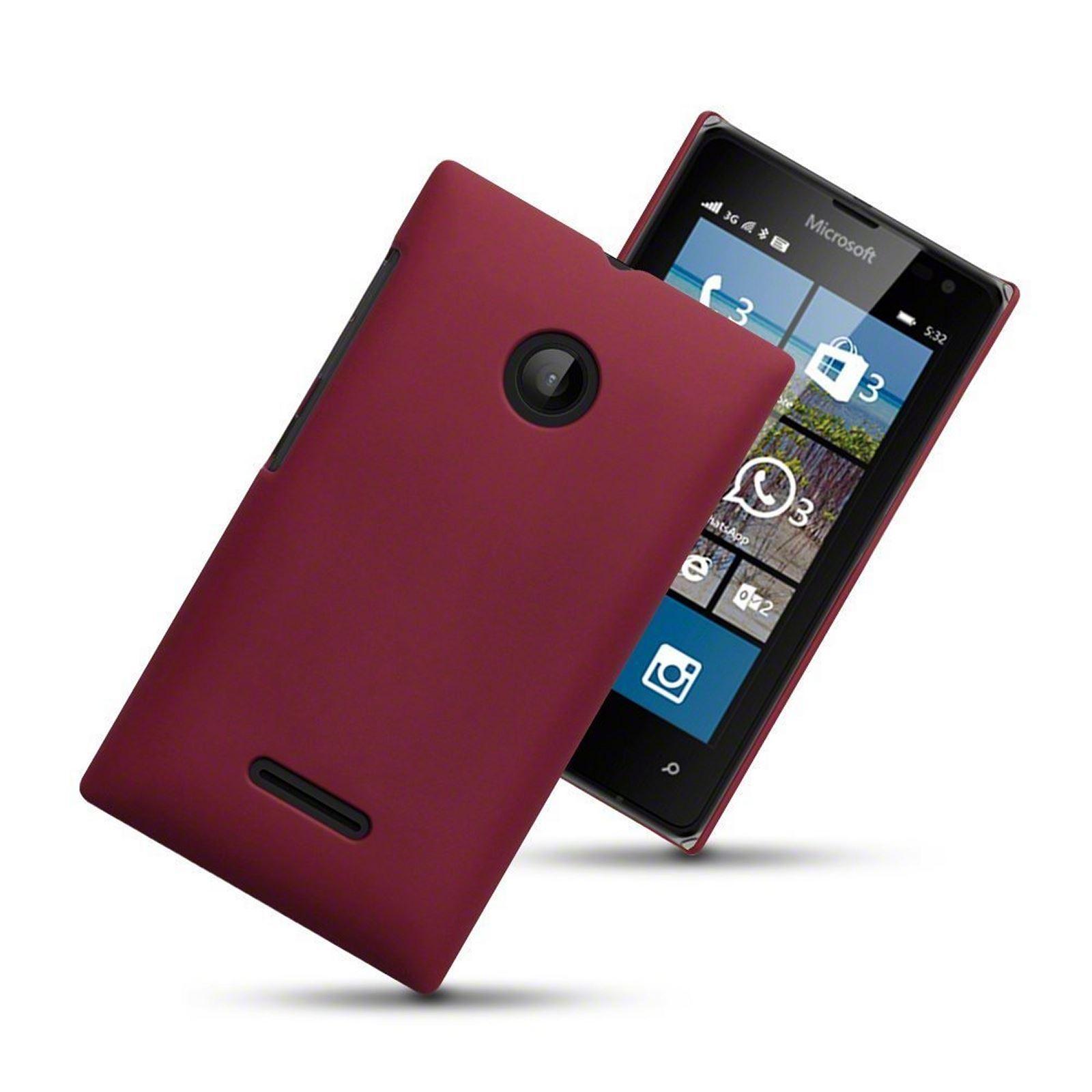 Microsoft Lumia 532 Hybrid Rubberised Shell Hard Back Case Cover