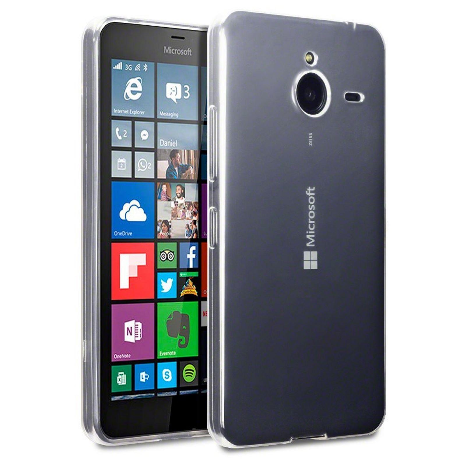 Microsoft Lumia 640 XL TPU Gel Silicone Skin Case Cover (only for Black 640 XL) | eBay