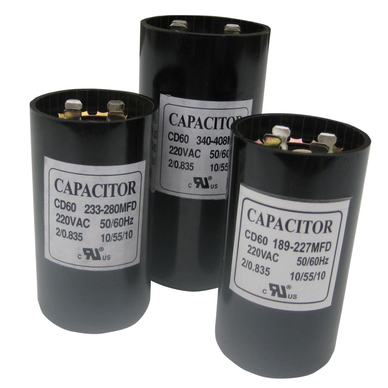 Uf mfd microfarad new 220 275v electric motor start for Electric motor starting capacitor