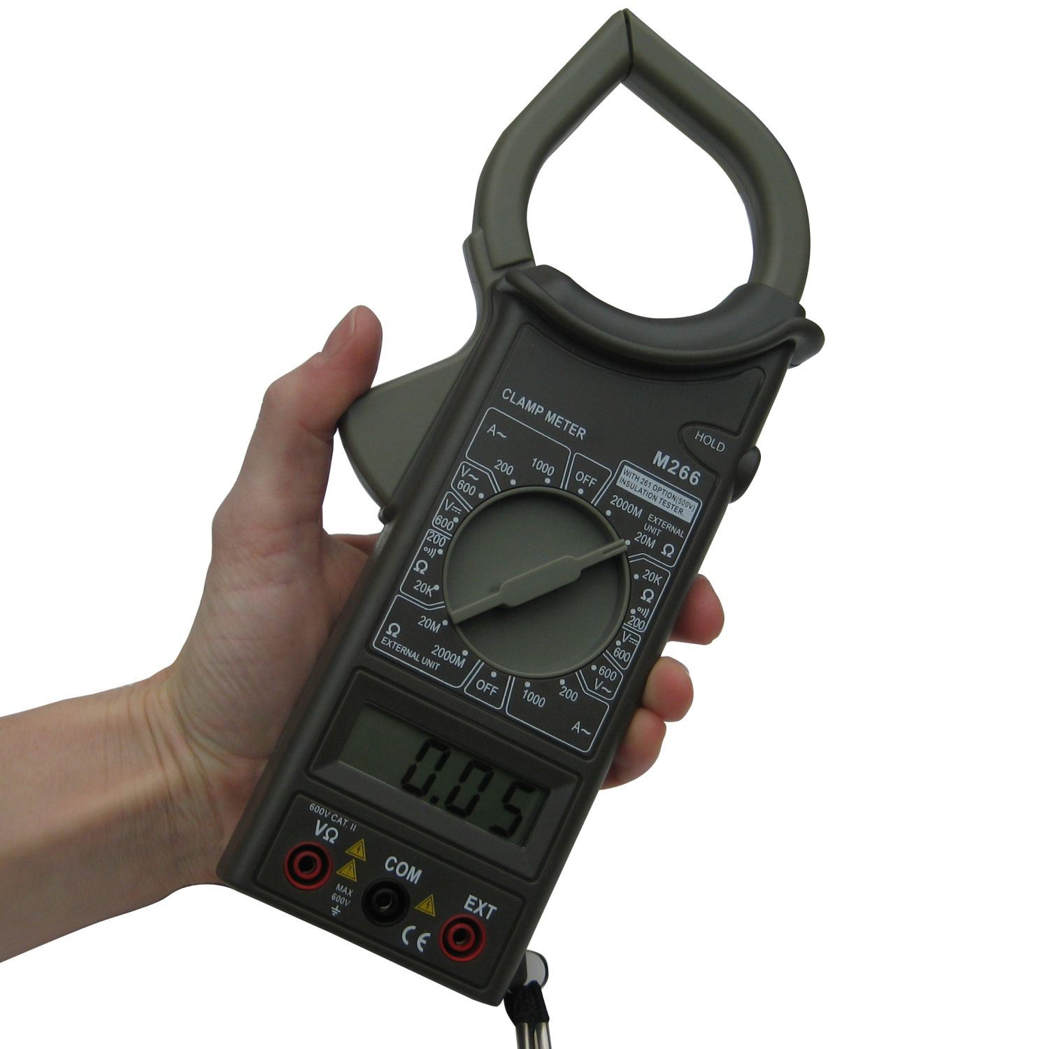 Auto Meter Clamp : Digital clamp meter hvac auto m