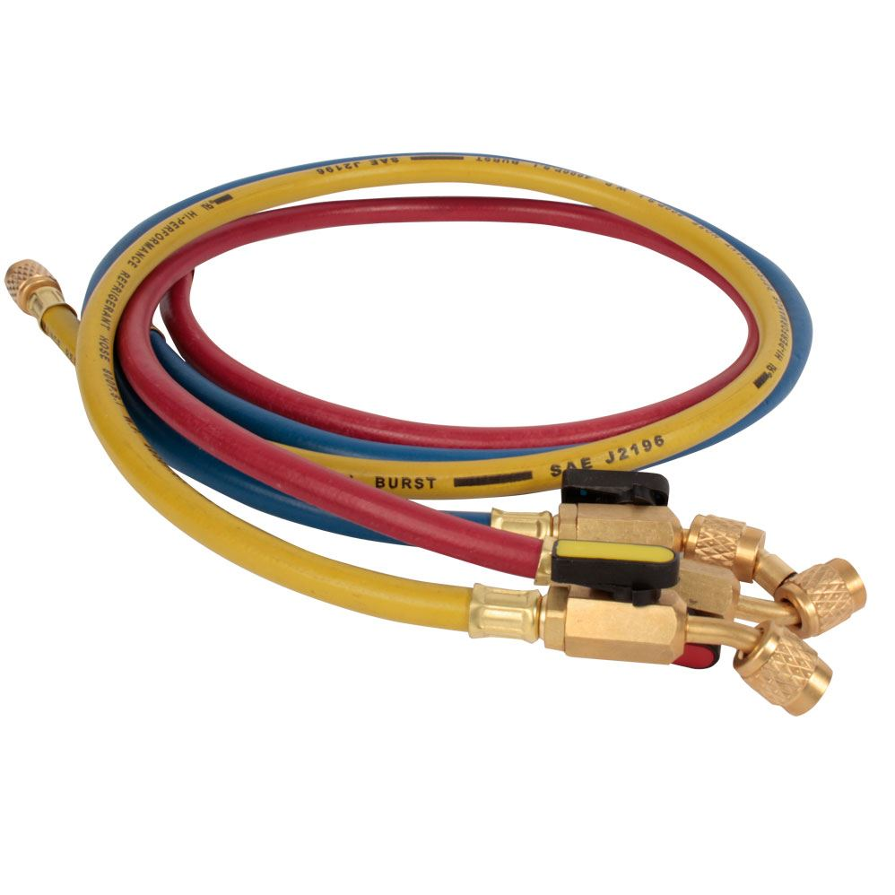 r410a refrigerant hoses shut off valve 90cm ebay. Black Bedroom Furniture Sets. Home Design Ideas